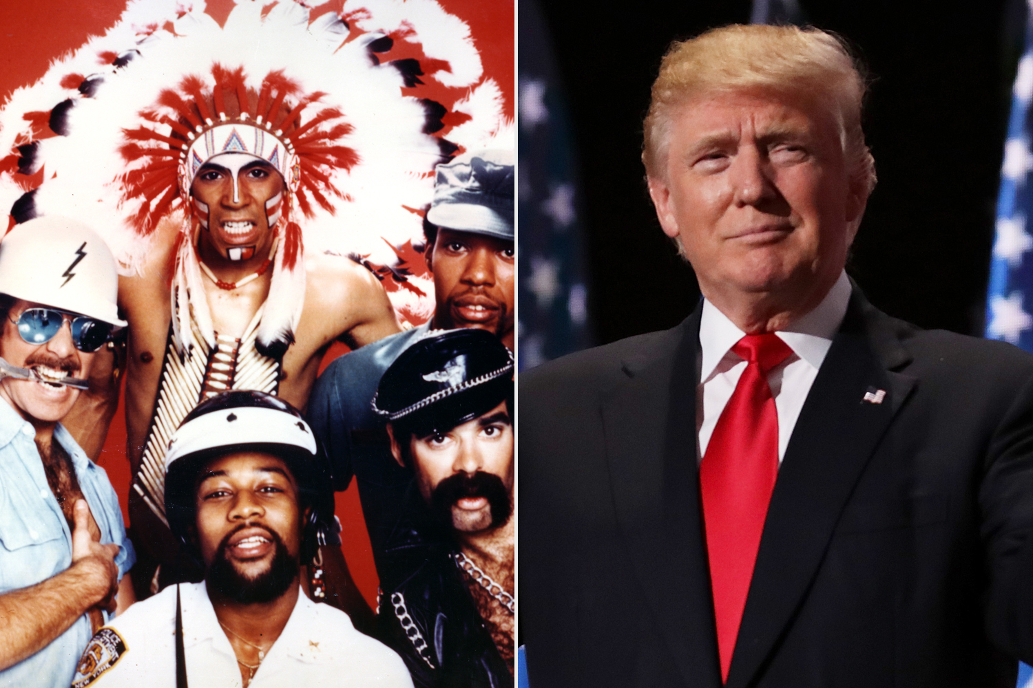 The Village People; Donald Trump