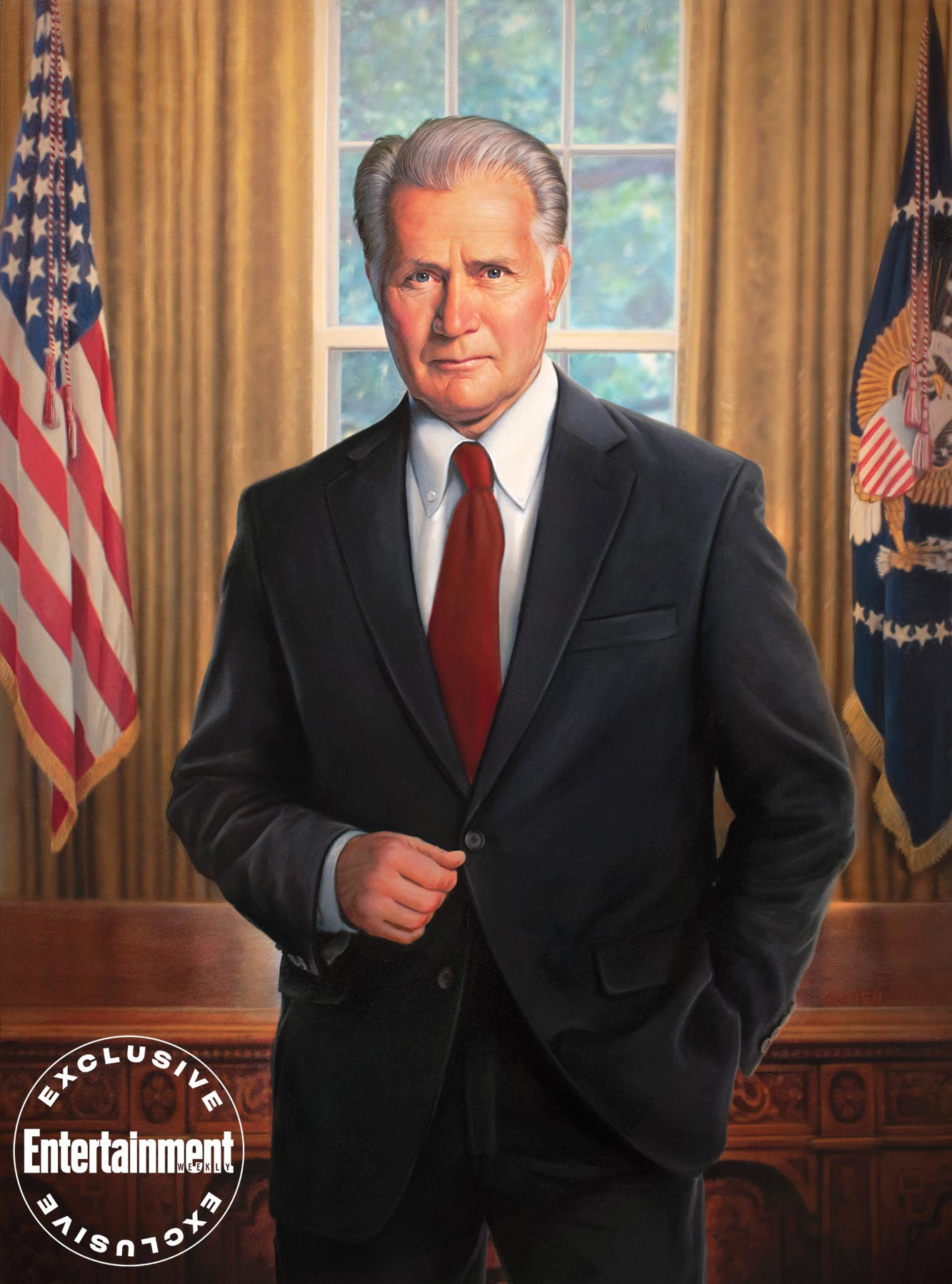 Martin Sheen (President Bartlet)