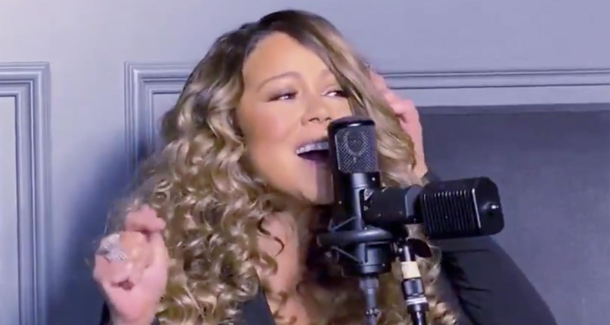 Mariah Carey on Good Morning America