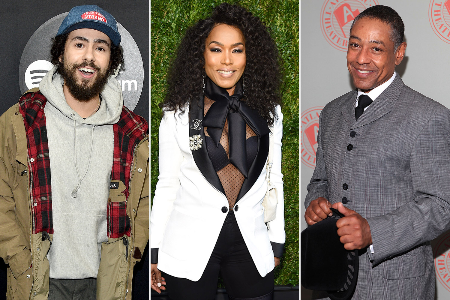 Ramy Youssef, Giancarlo Esposito, and Angela Bassett