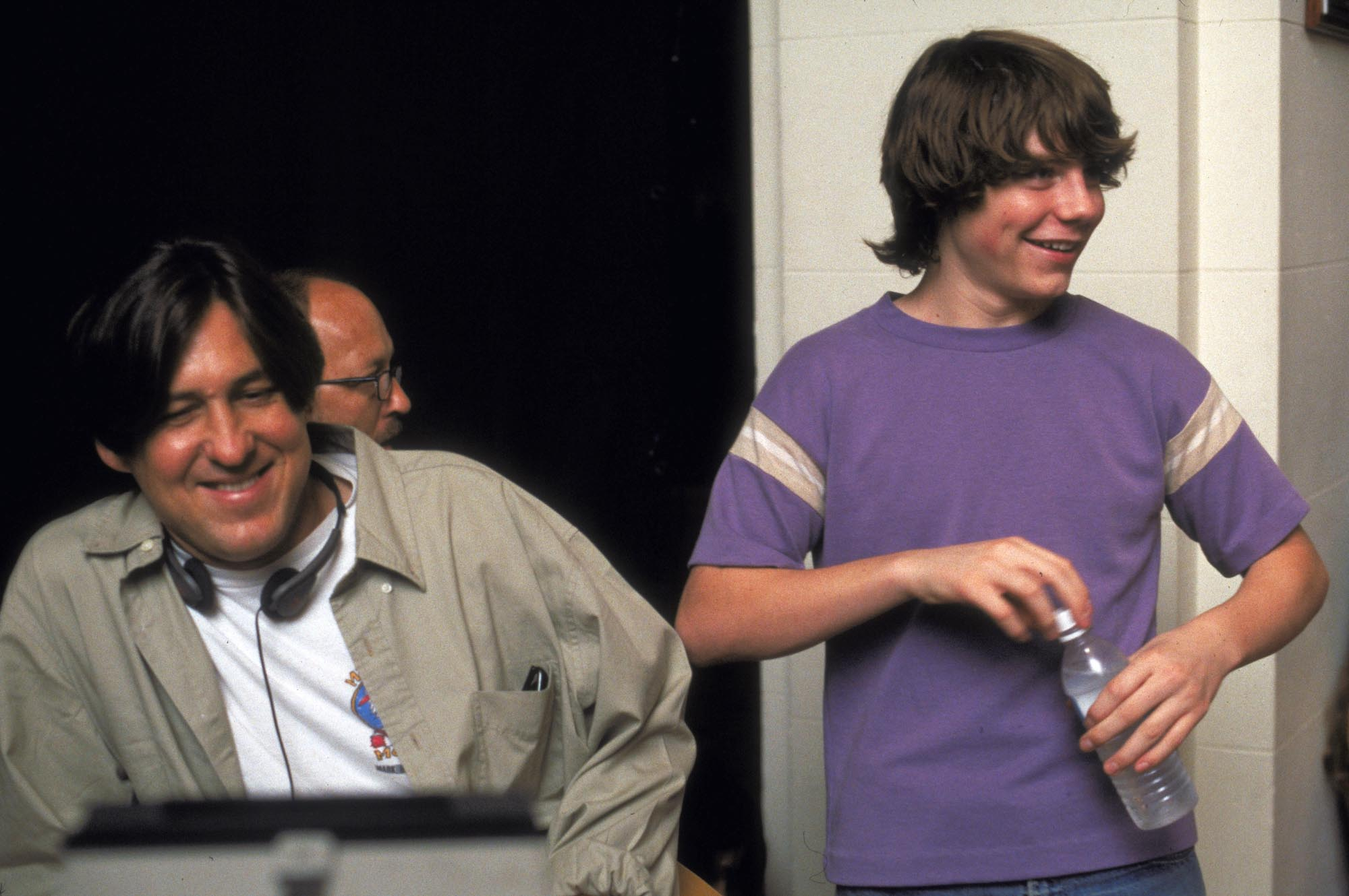 Almost Famous Cameron Crowe and Patrick Fugit