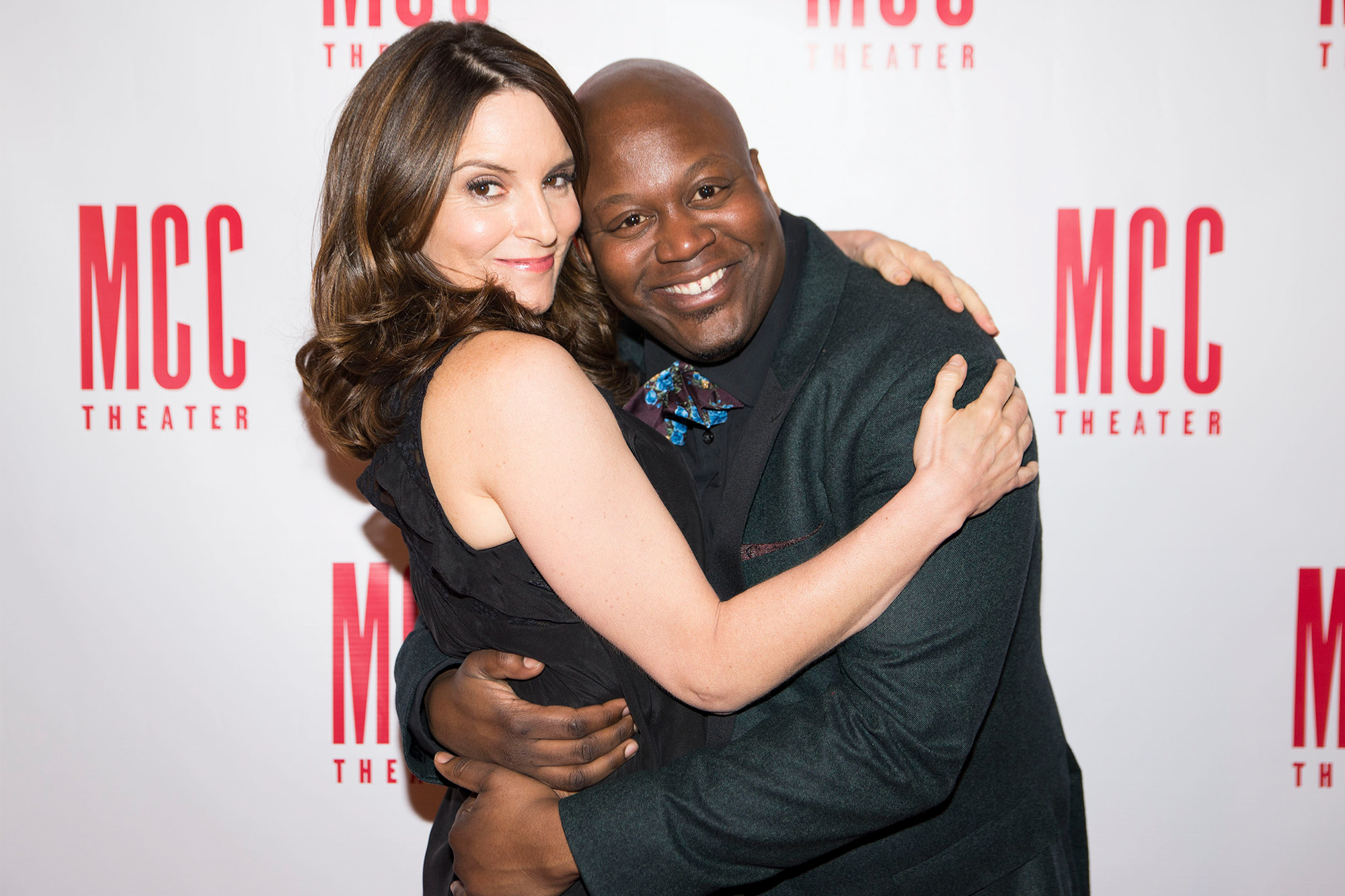 Tina Fey and Tituss Burgess