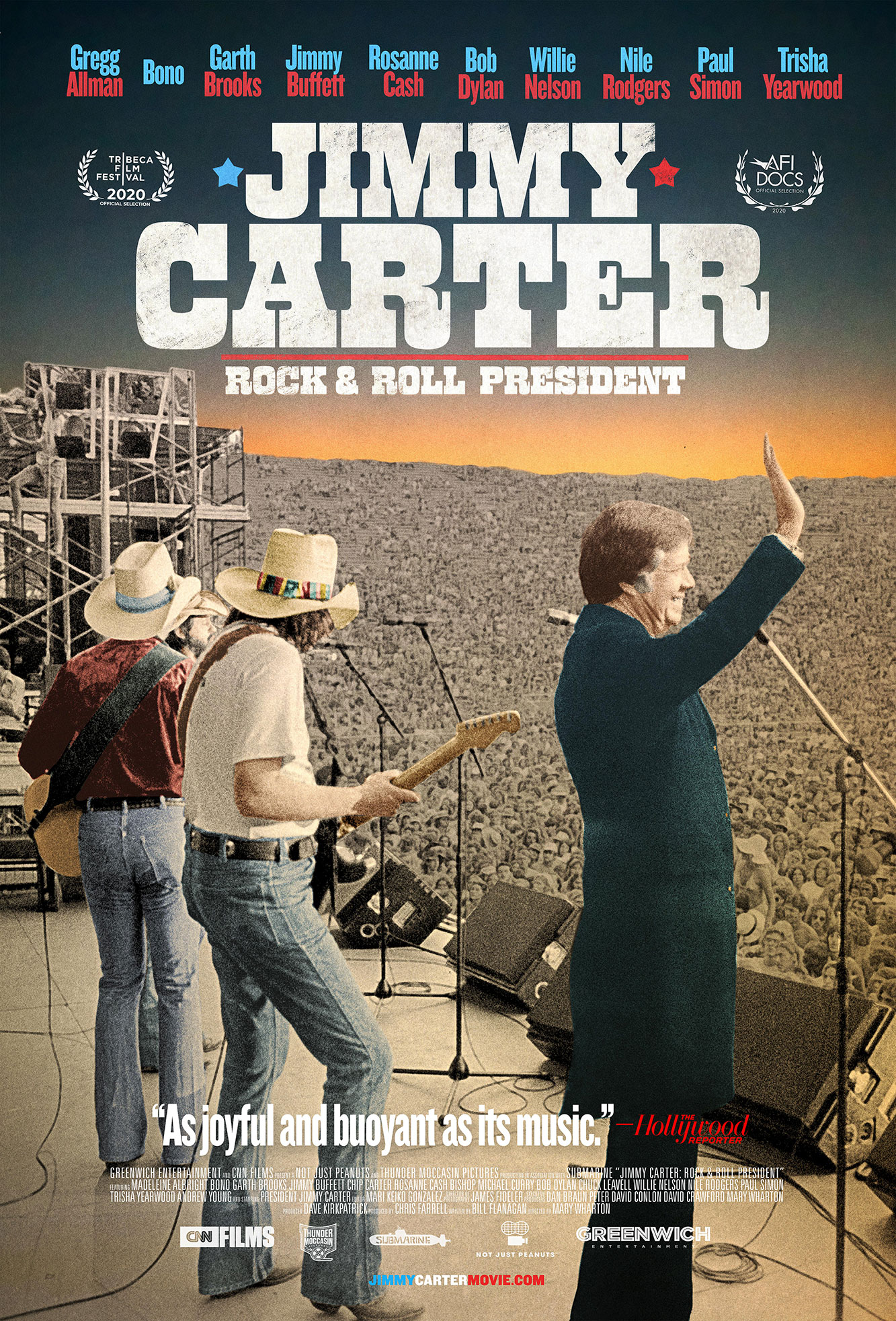 Jimmy Carter Rock and Roll President