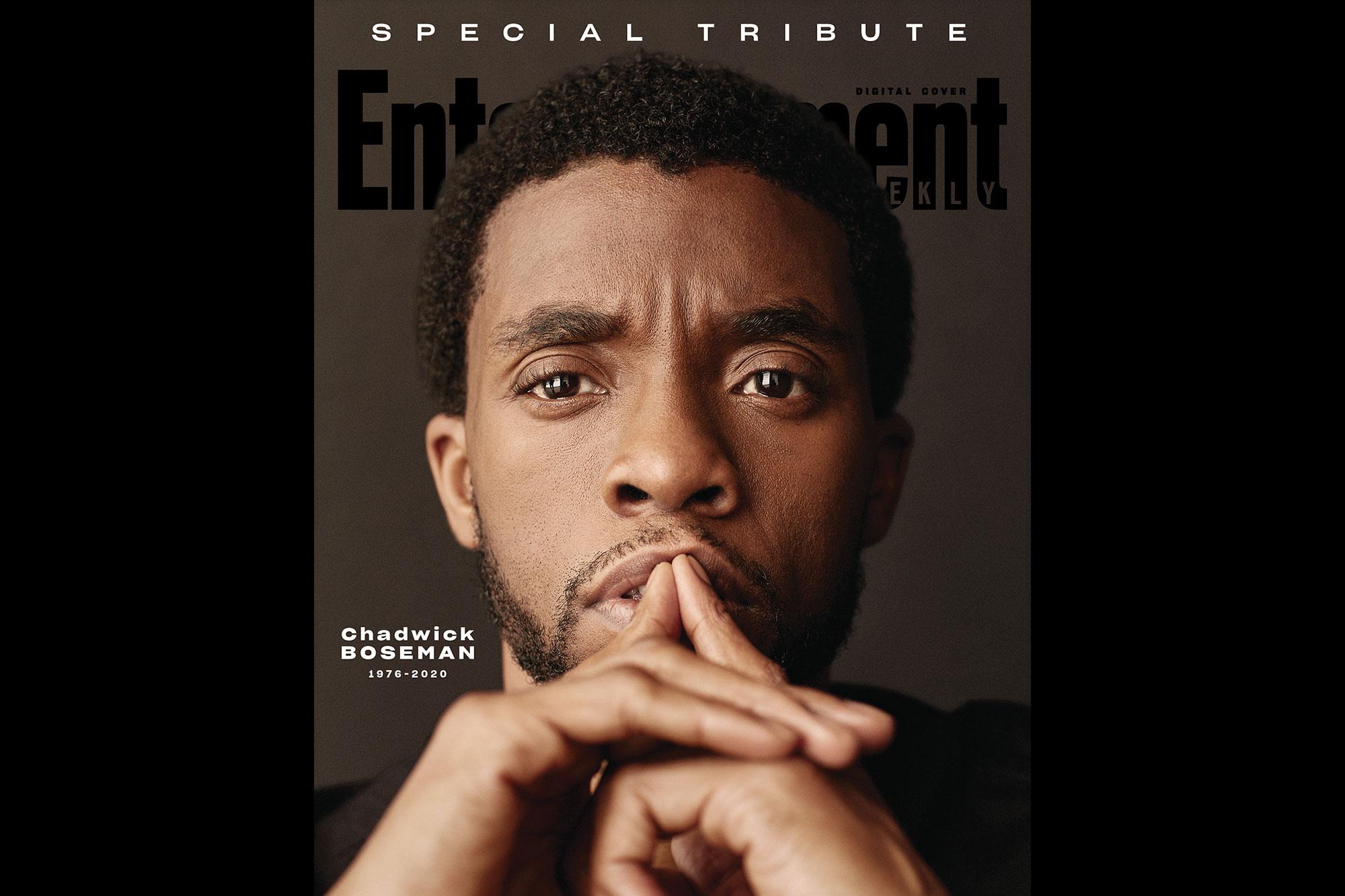 Chadwick Boseman EW Tribute cover