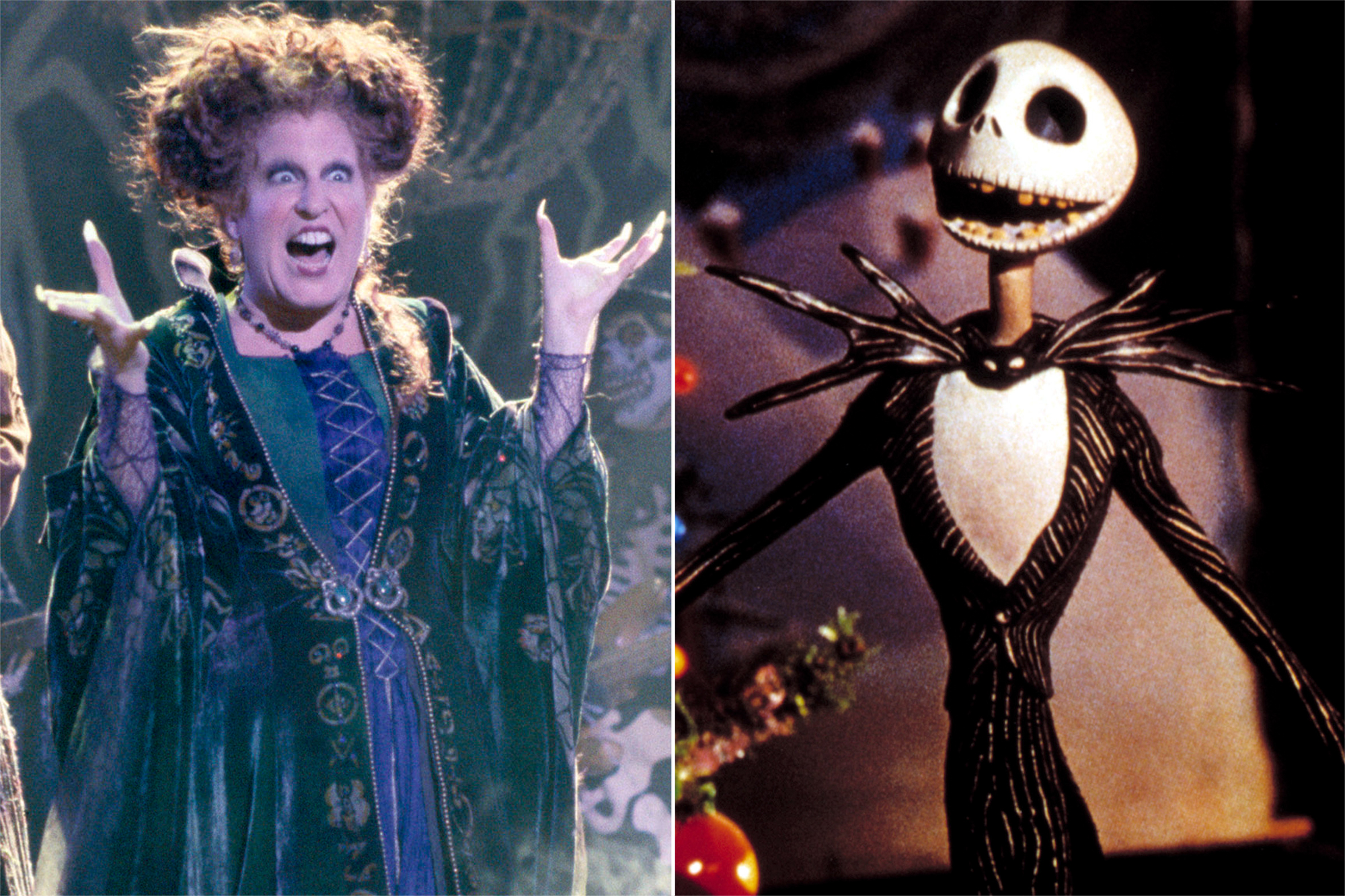 Hocus Pocus, Nightmare Before Christmas
