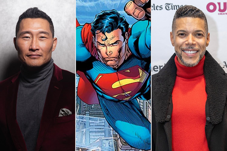 Daniel Dae Kim, Wilson Cruz, superman