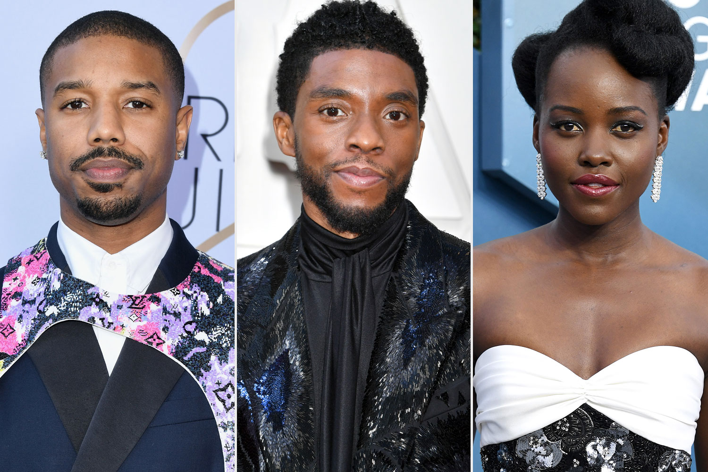 Michael B. Jordan, Chadwick Boseman, Lupita Nyong'o