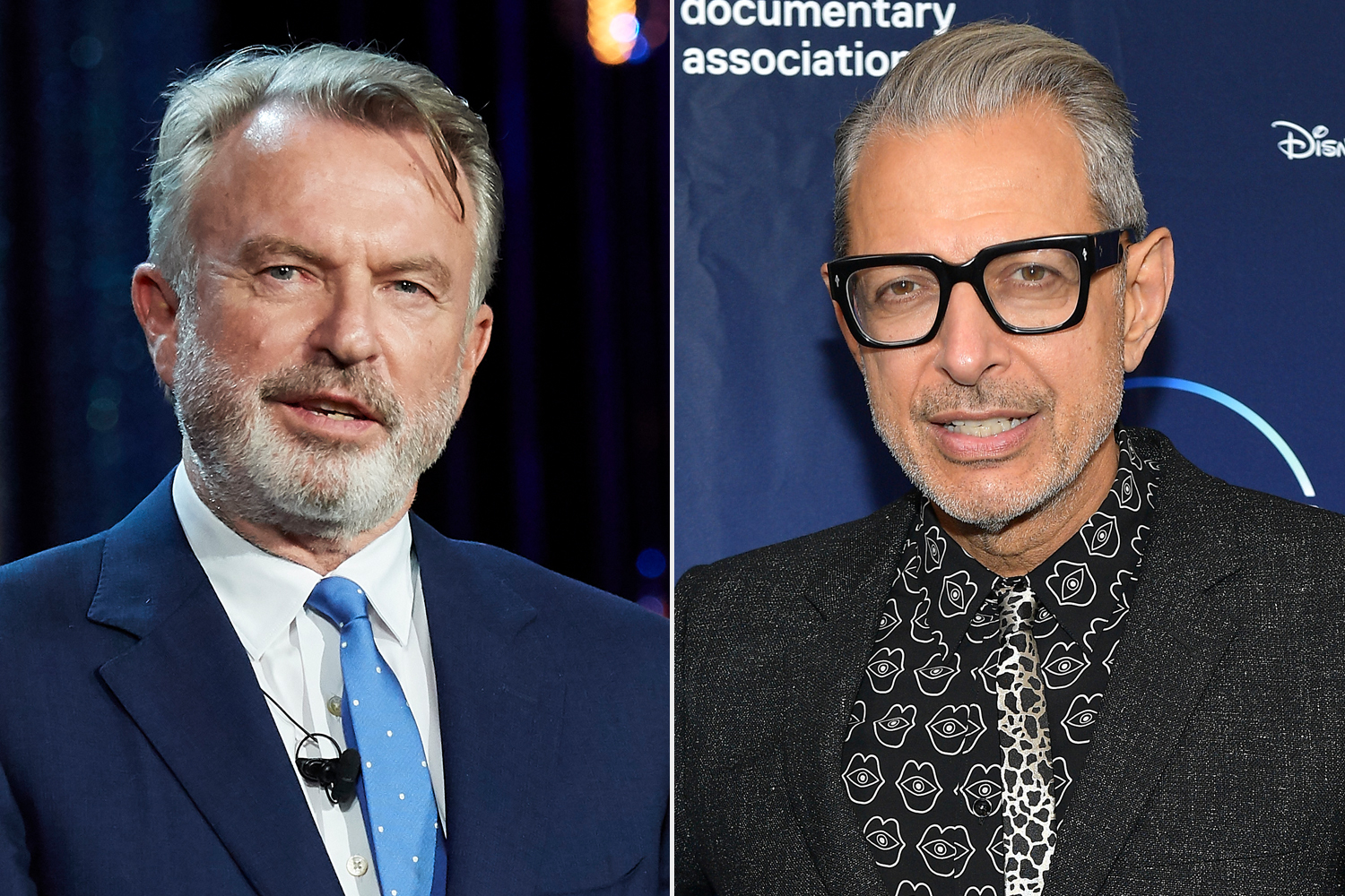 Sam Neill; Jeff Goldblum