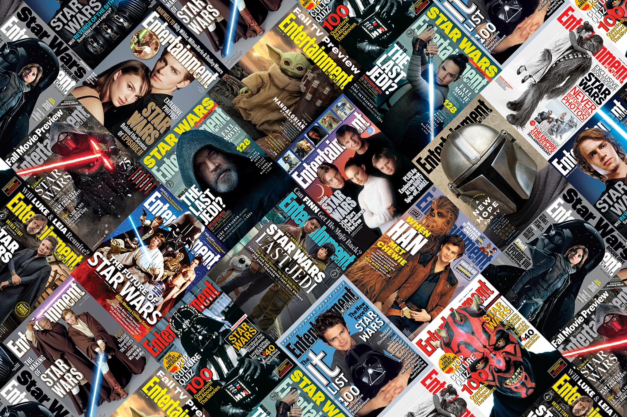Star Wars EW Covers