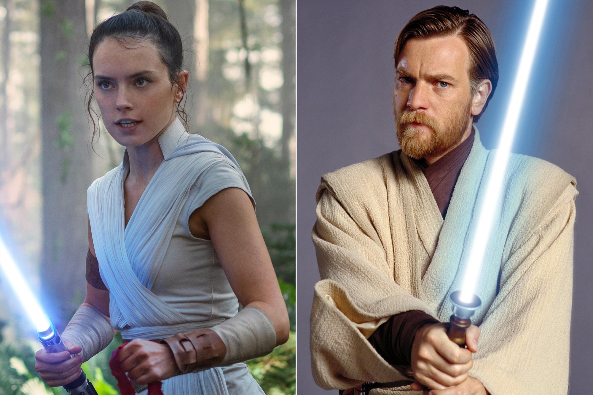 Rey; Obi Wan Kenobi