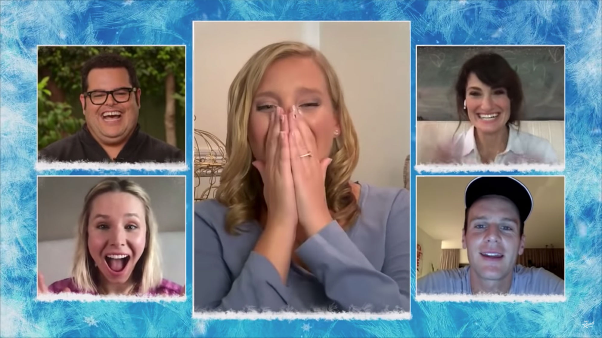 Frozen Reunion on Jimmy Kimmel Live