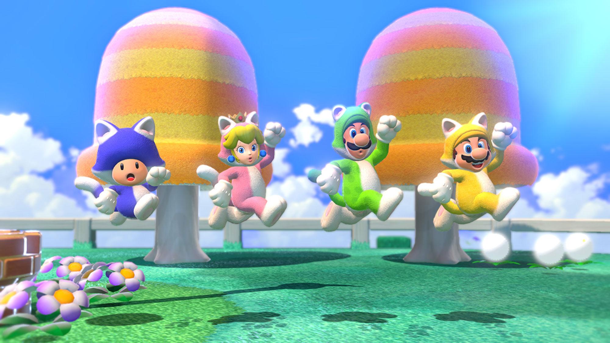 Nintendo's Super Mario 35th Anniversary celebration