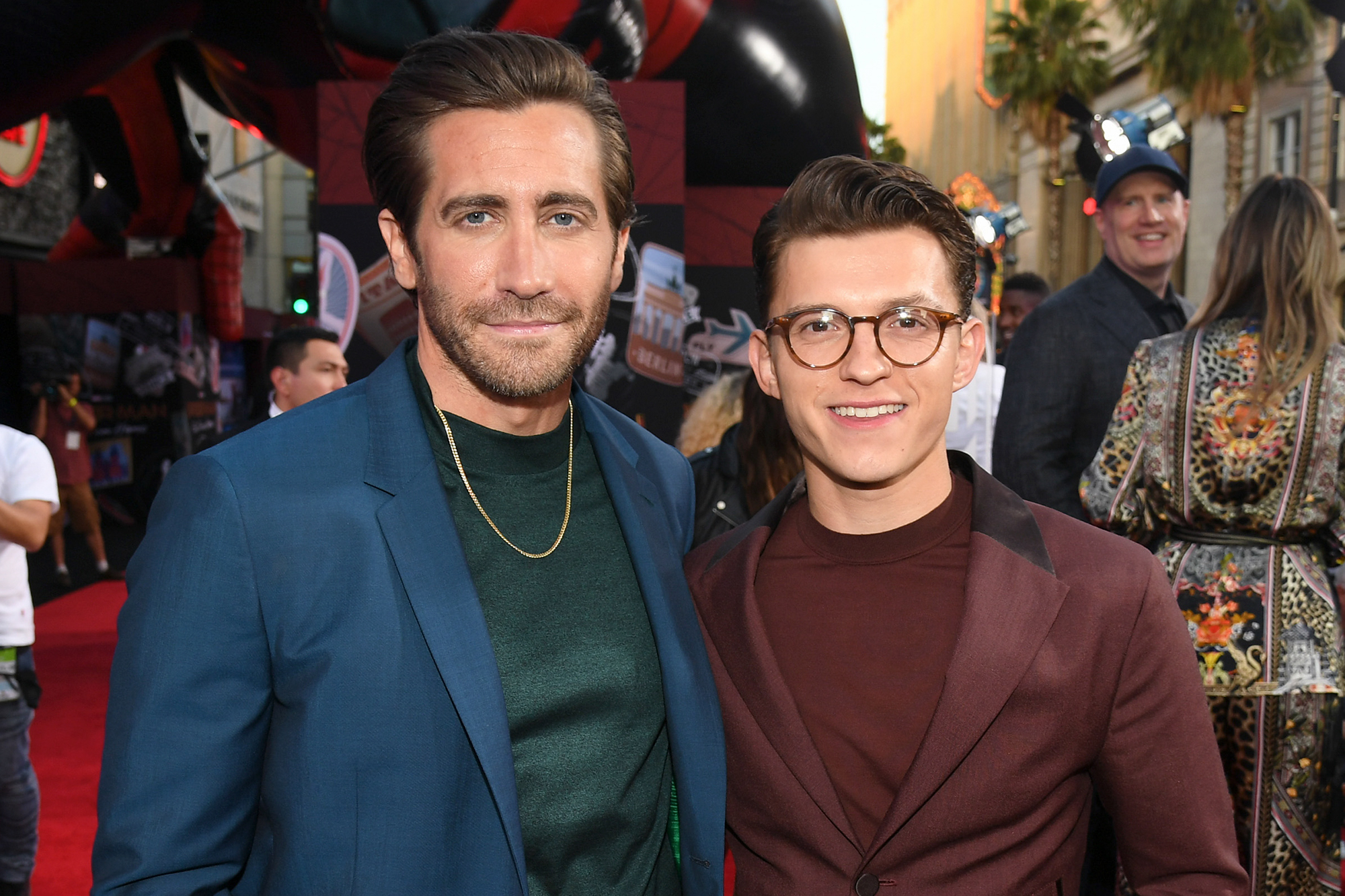 Jake Gyllenhaal and Tom Holland