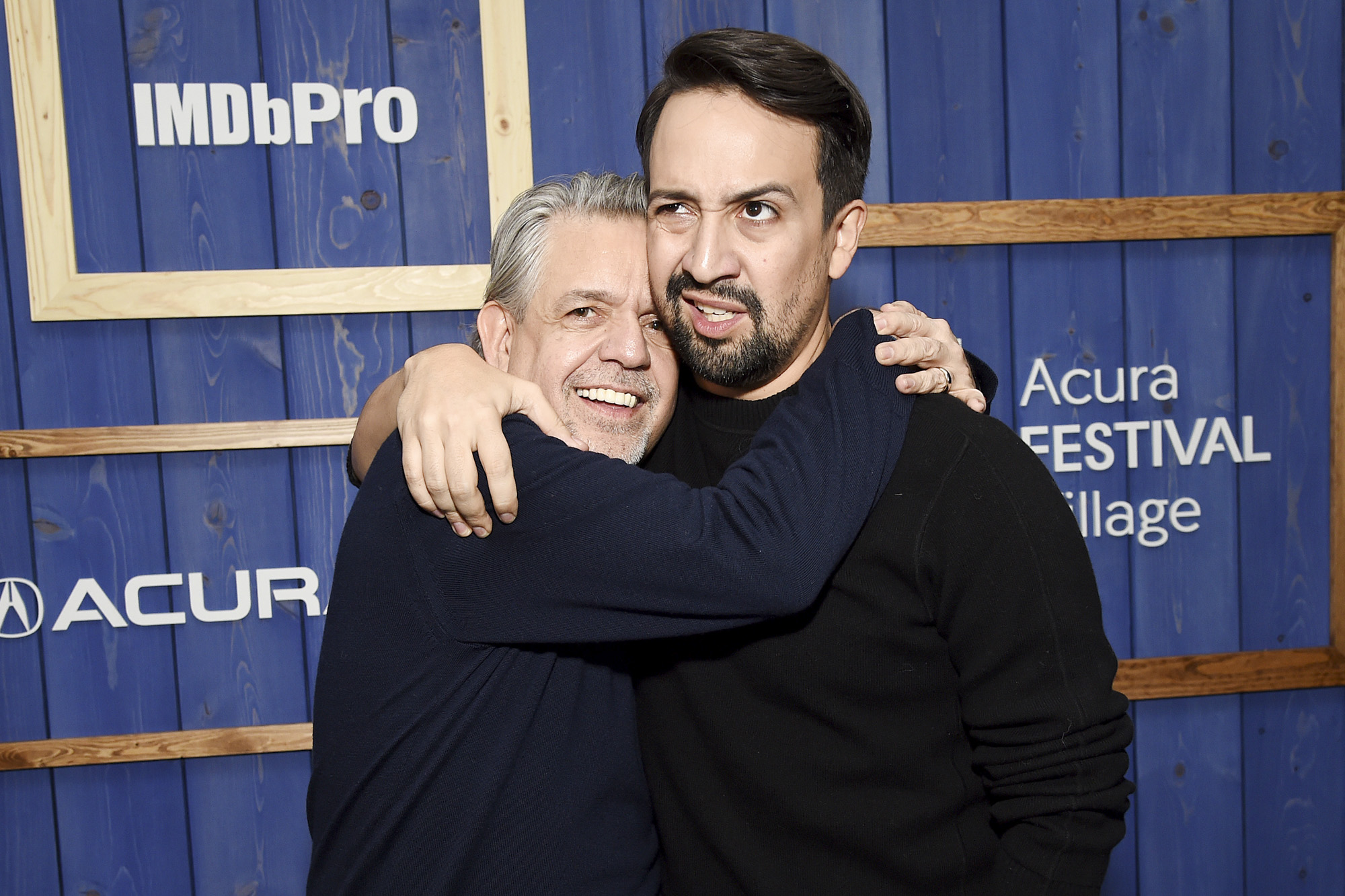 Luis A. Miranda, Jr. and Lin-Manuel Miranda
