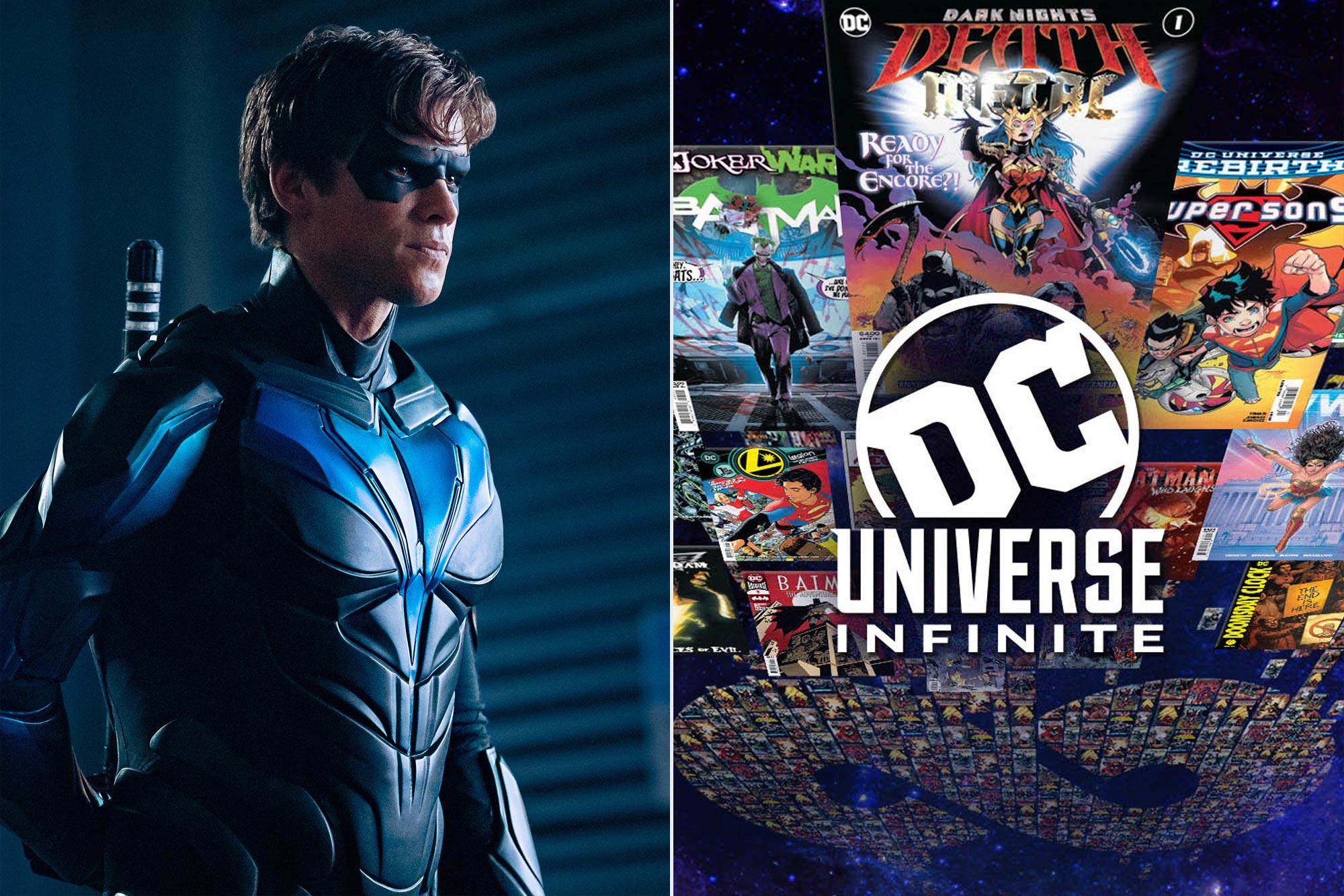 Titans; DC Universe Infinite
