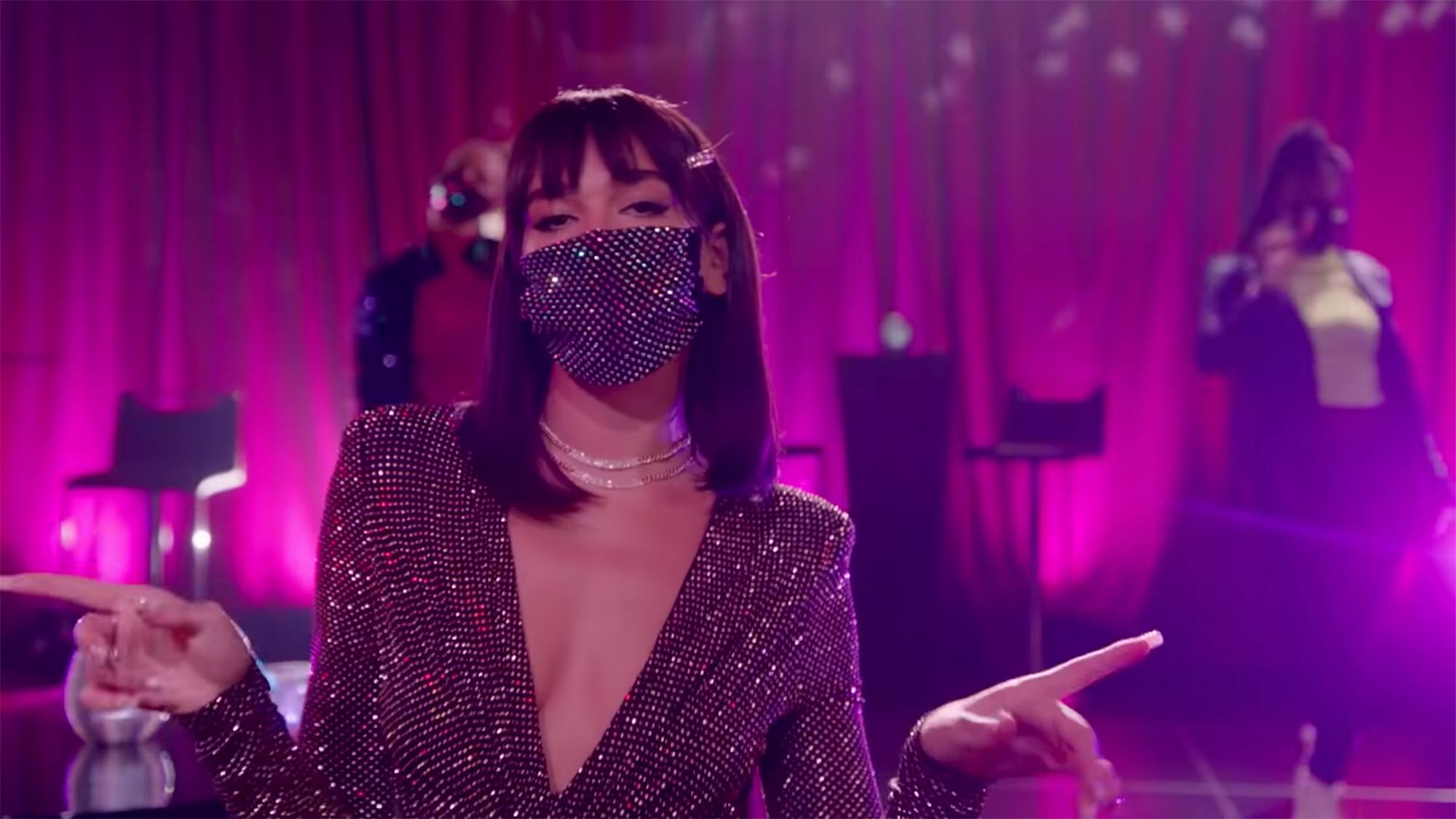 DUA LIPA Has 'New Rules' For COVID Dating- The Late Late Show with James Corden