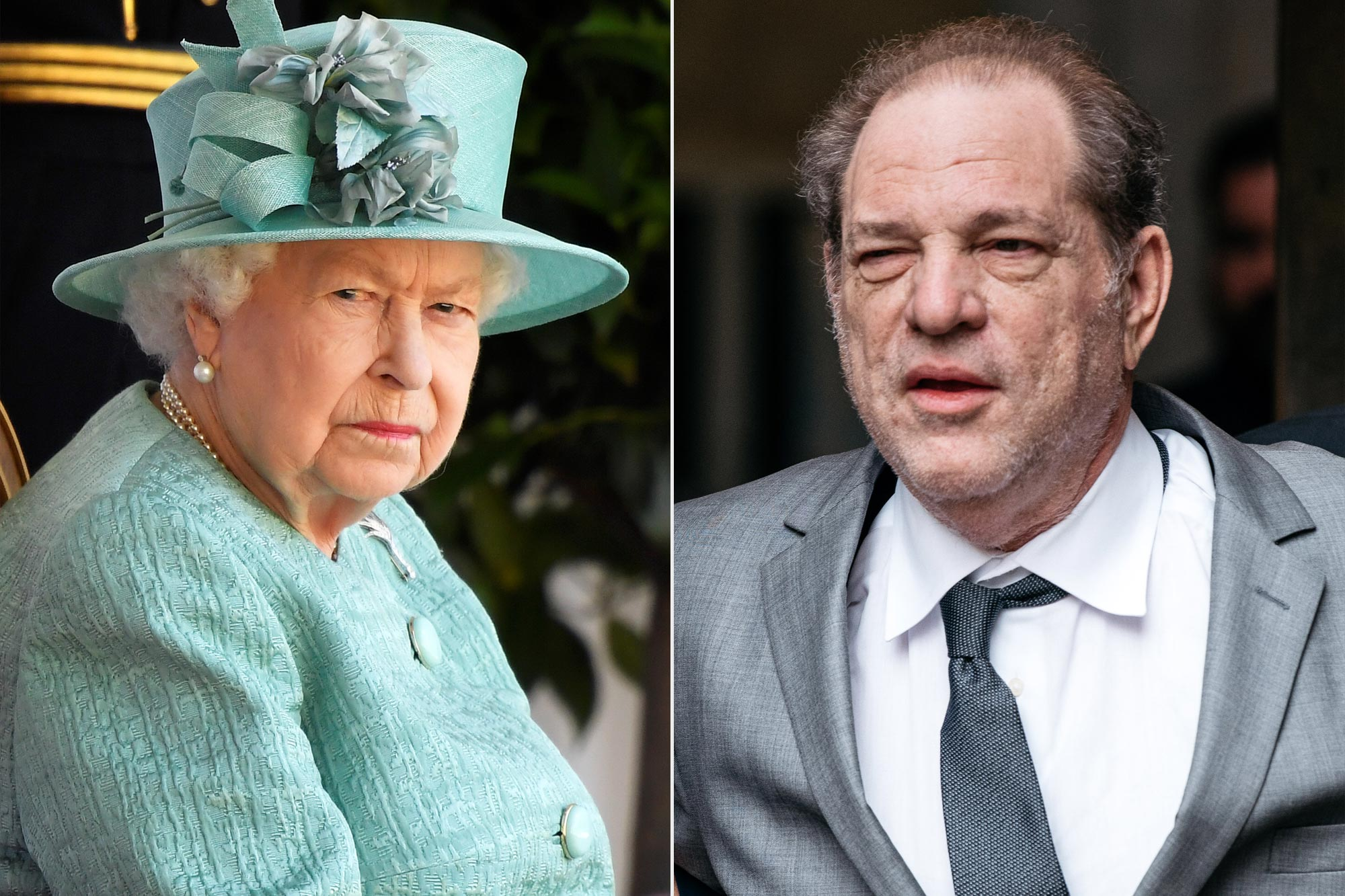 Queen Elizabeth II; Harvey Weinstein