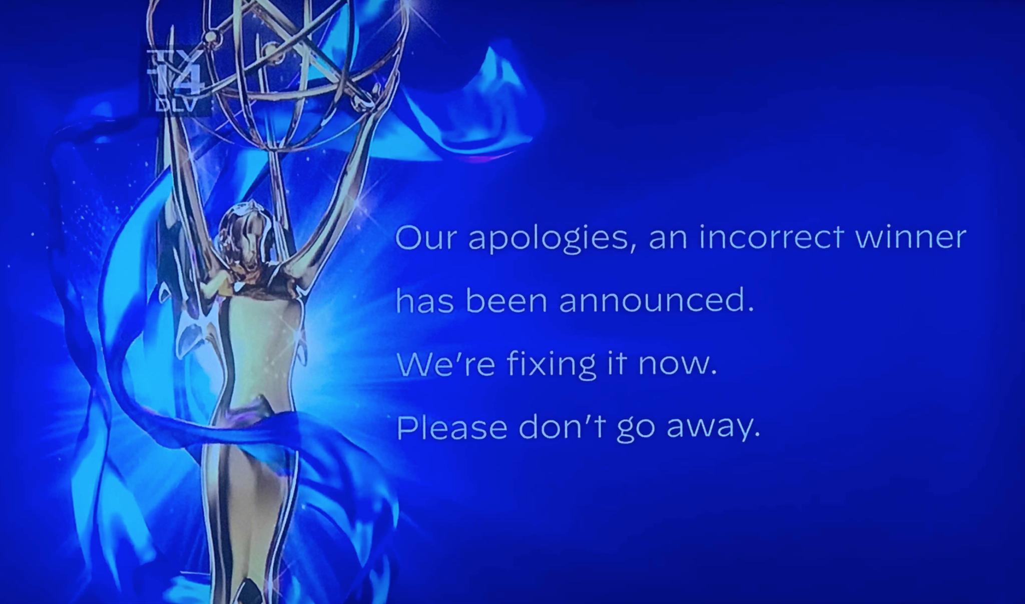 TV Academy mistakenly announces Jason Bateman as Emmy winner