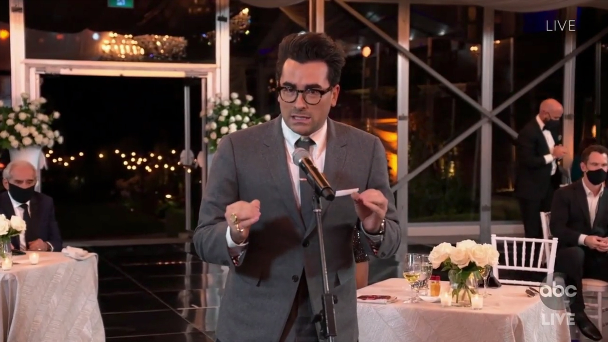 Dan Levy Best Supporting Actor win
