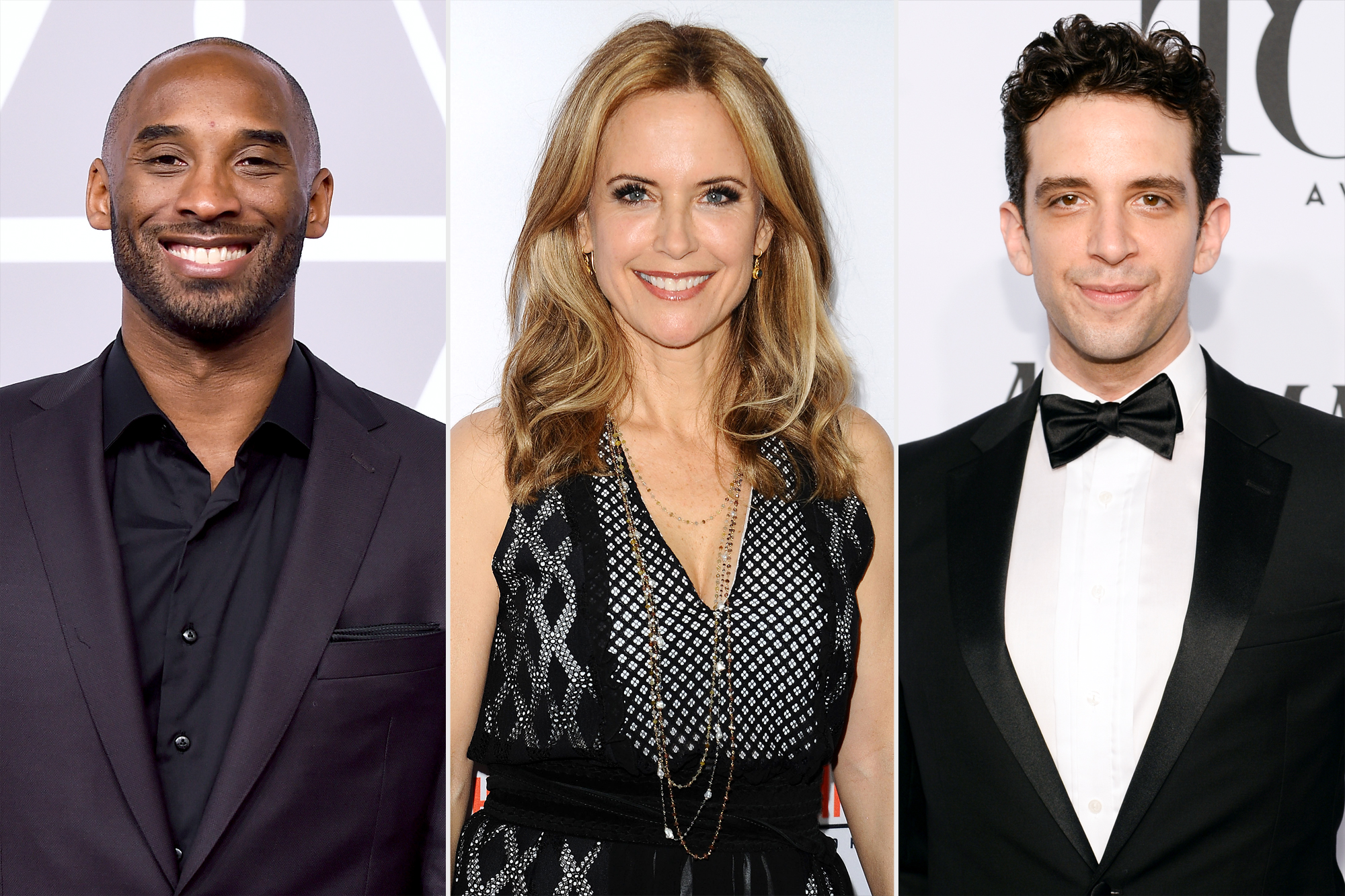 Kobe Bryant, Kelly Preston, and Nick Cordero