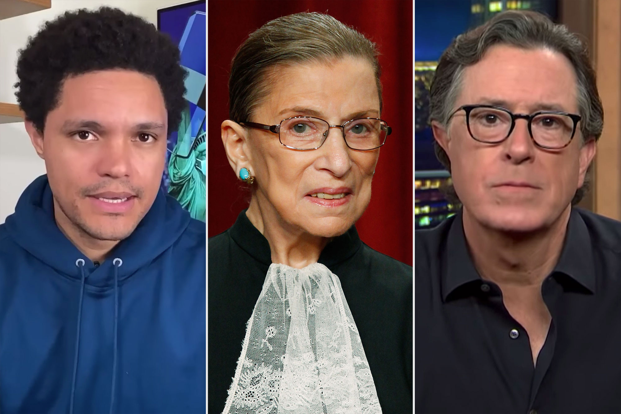 Late Night reacts to Ruth Bader Ginsburg's Death