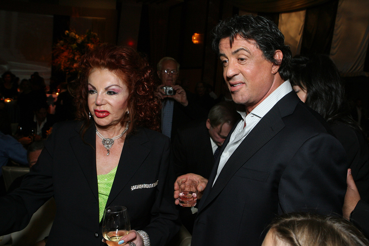 sylvester stallone with his mom
