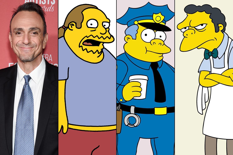 Hank Azaria's Simpsons characters