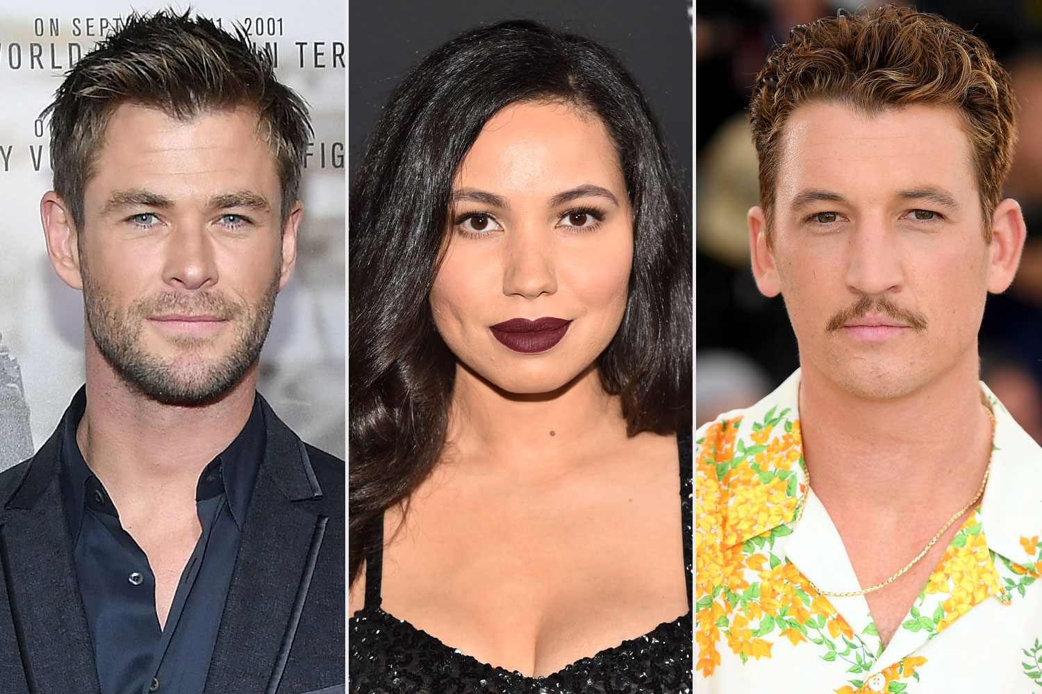 Chris Hemsworth, Jurnee Smollett, Miles Teller