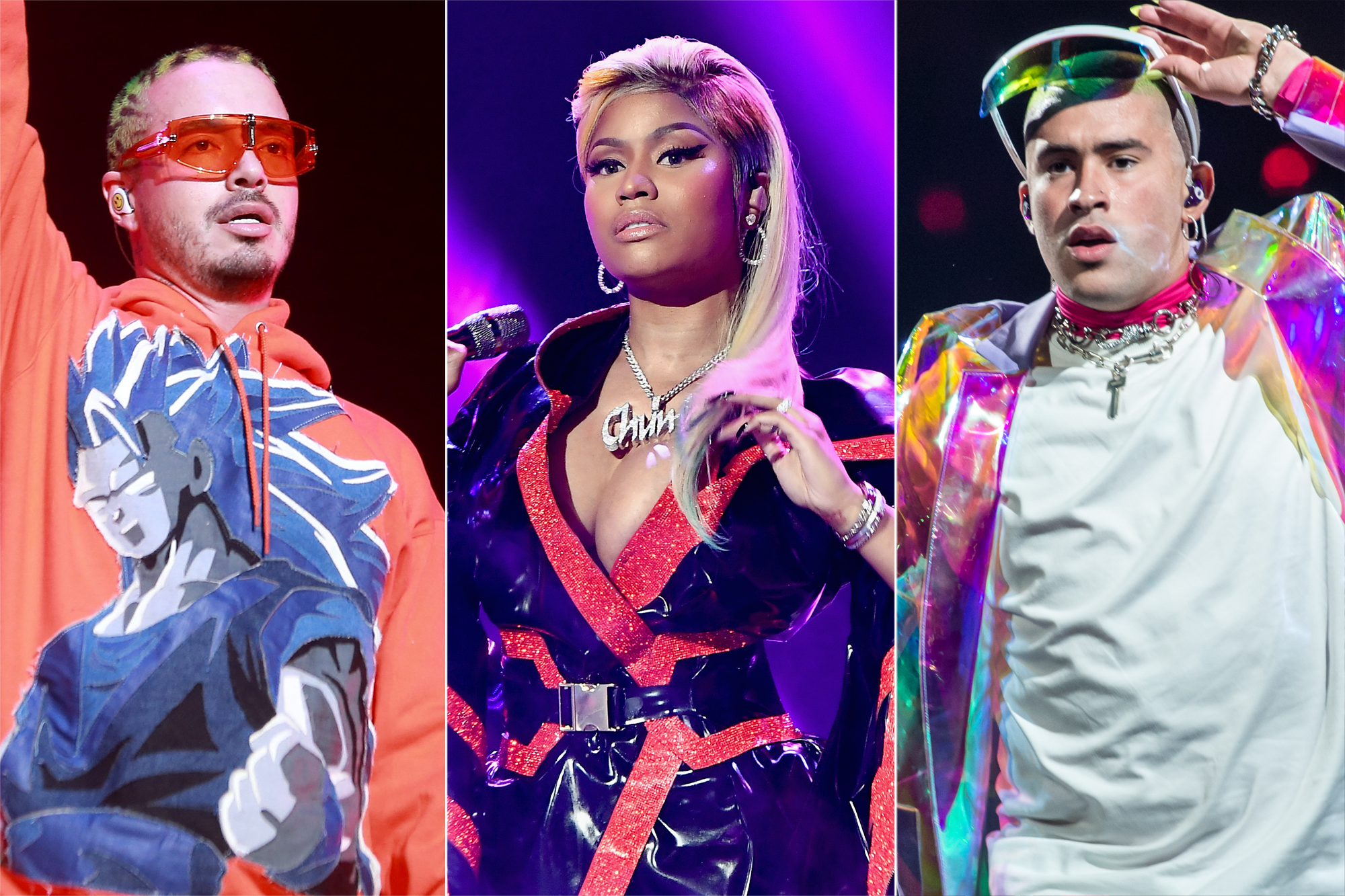 J Balvin, Nicki Minaj, Bad Bunny