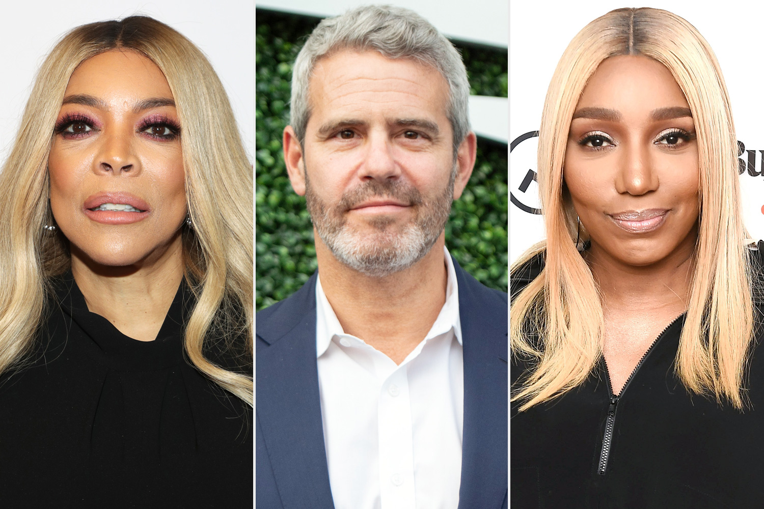 Wendy Williams, Andy Cohen, Nene Leakes
