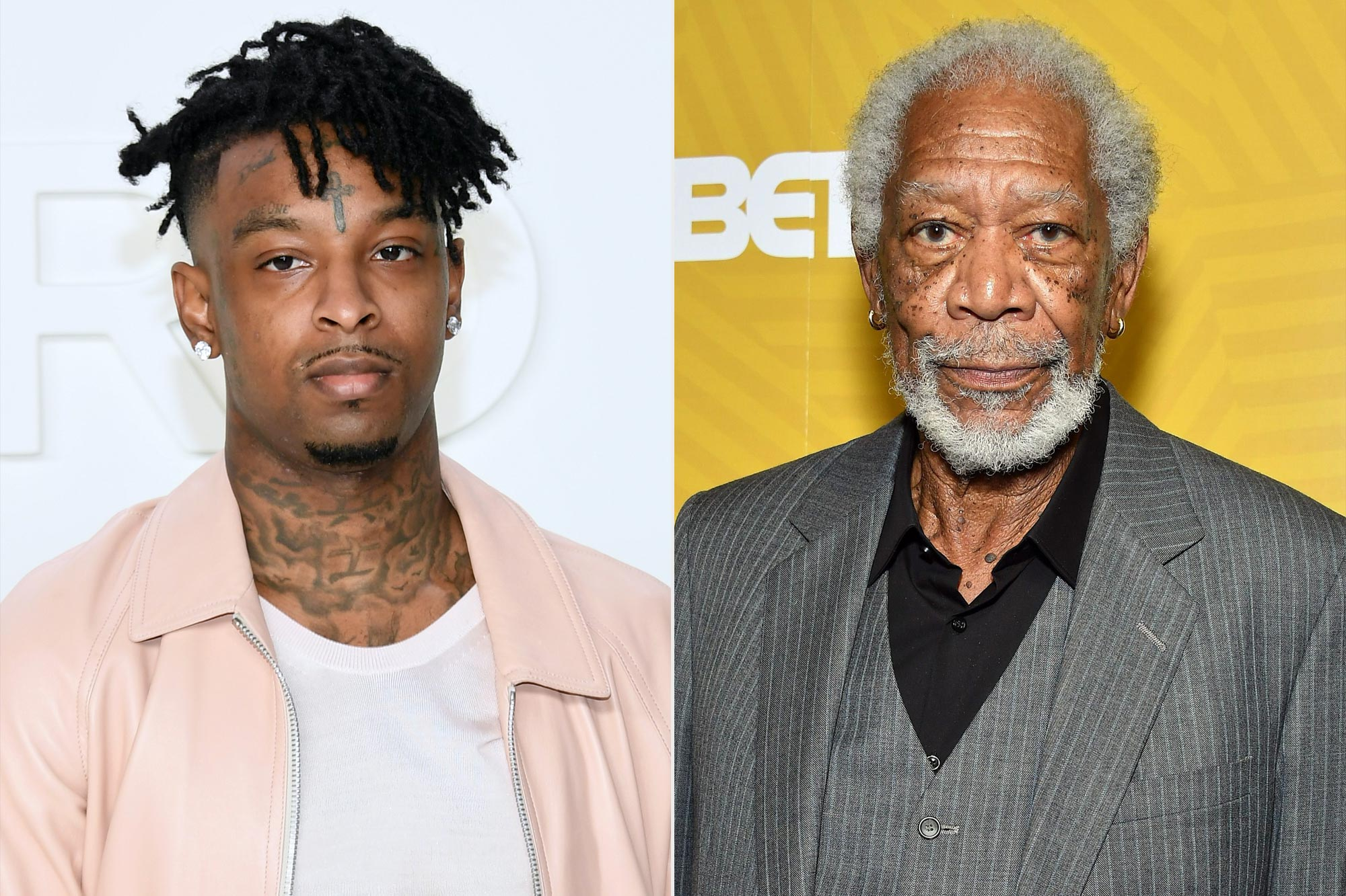 21 Savage; Morgan Freeman