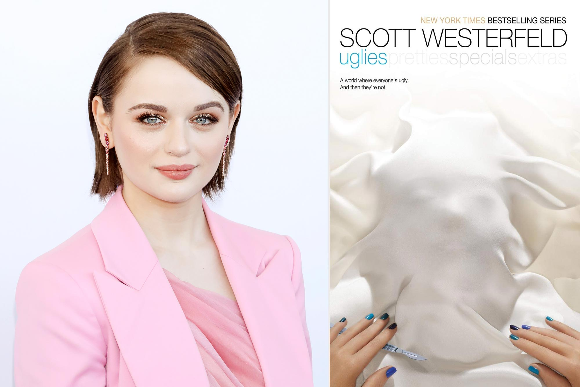 Joey King; Uglies by Scott Westerfeld