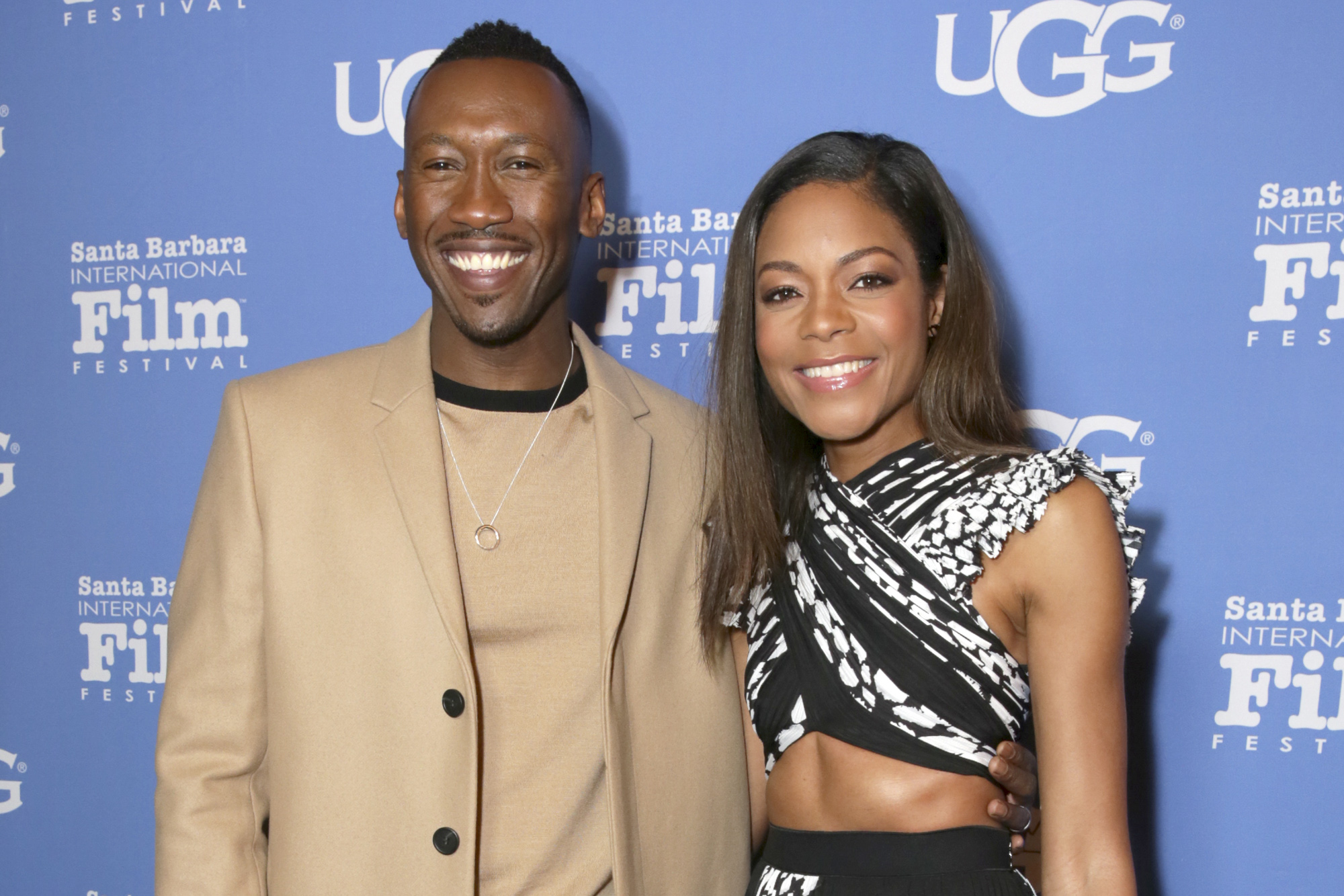 Mahershala Ali and Naomie Harris