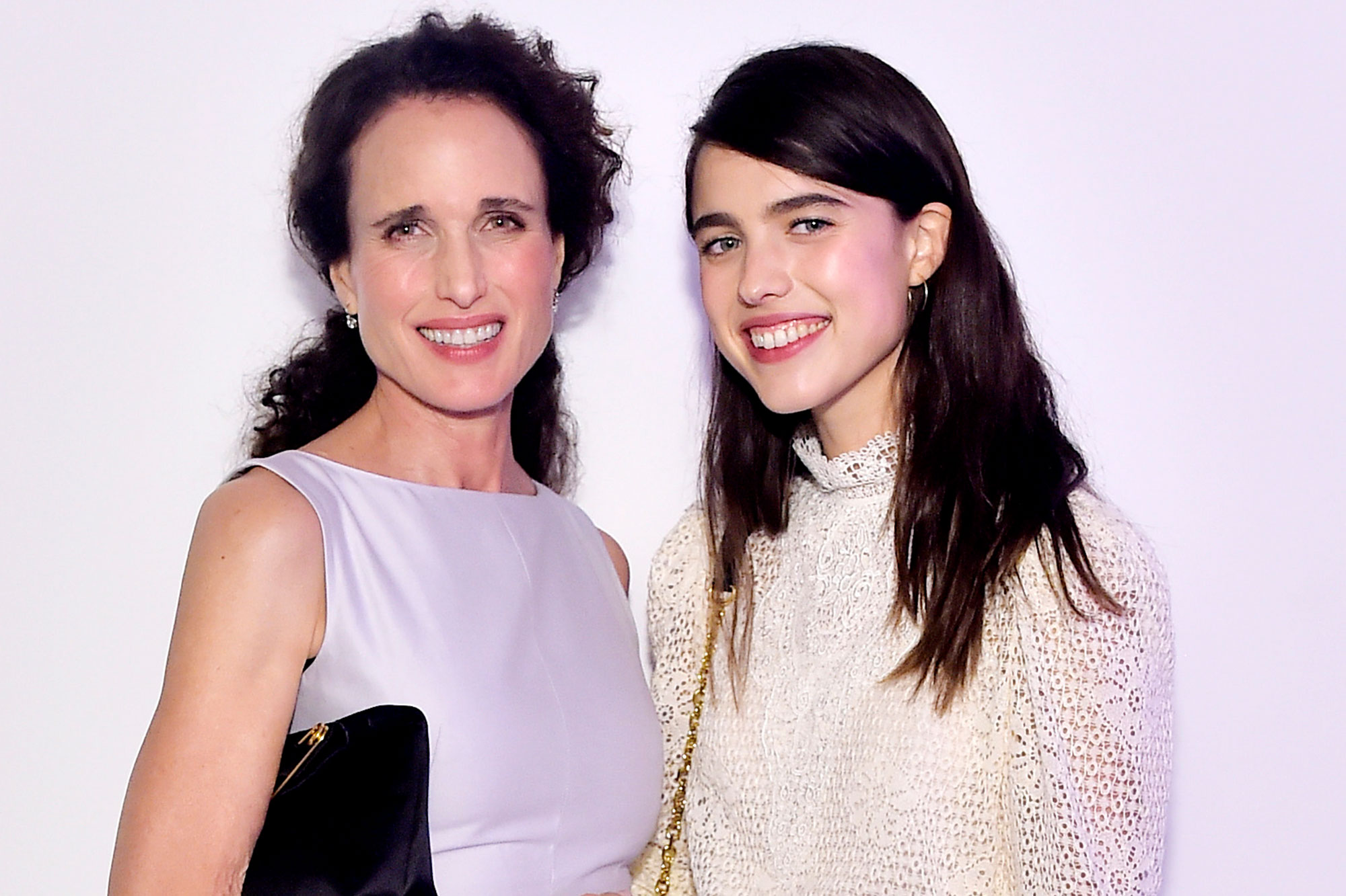 Andie MacDowell and Margaret Qualley