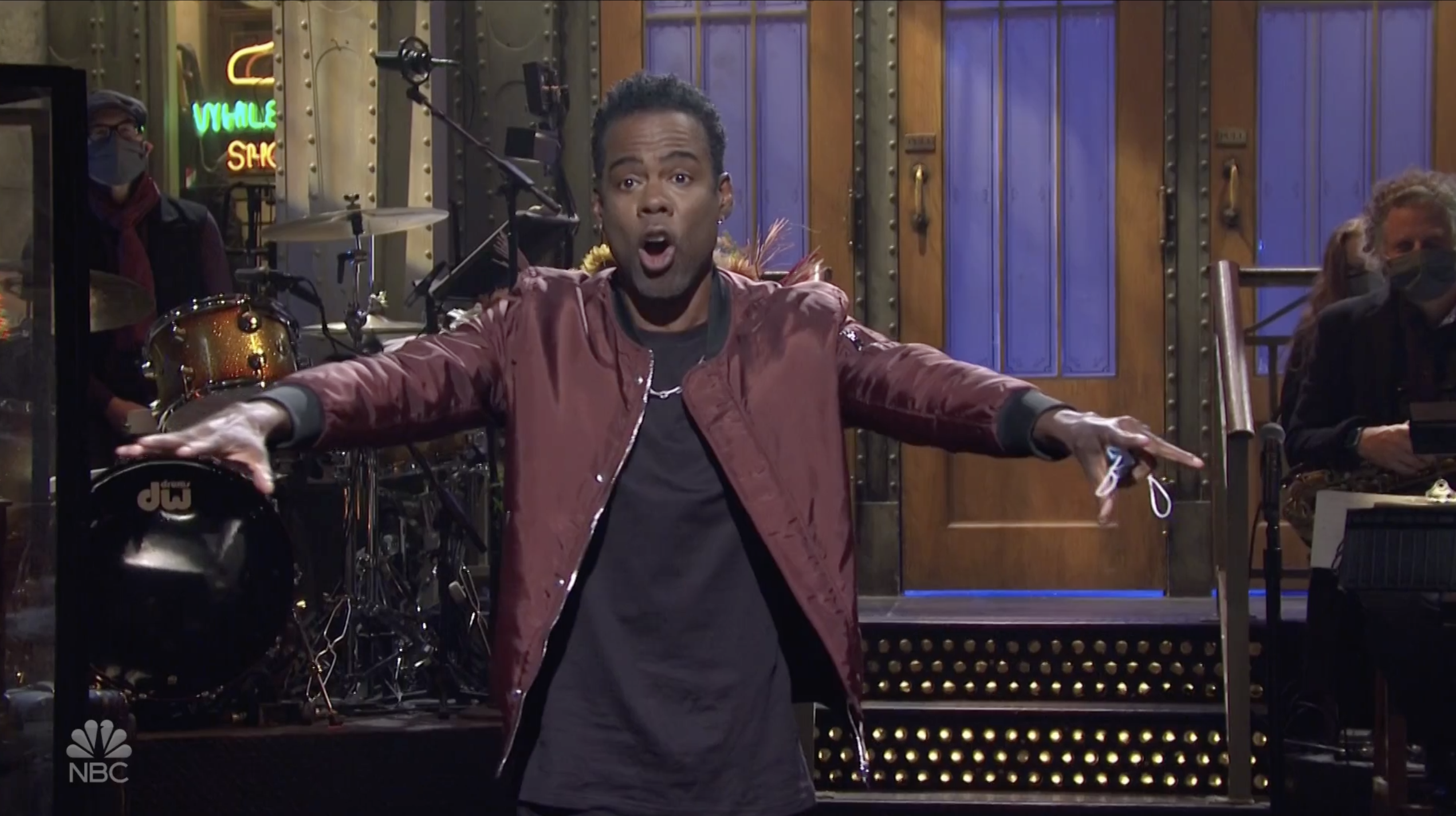 Chris Rock hosts SNL