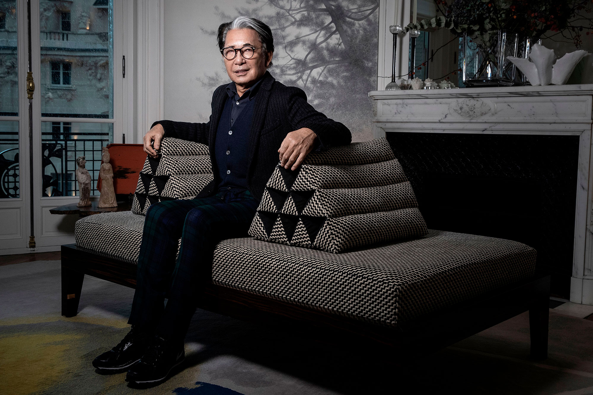 Kenzo Takada, founder of the Kenzo Global brand, dies at 81 from COVID-19 | EW.com