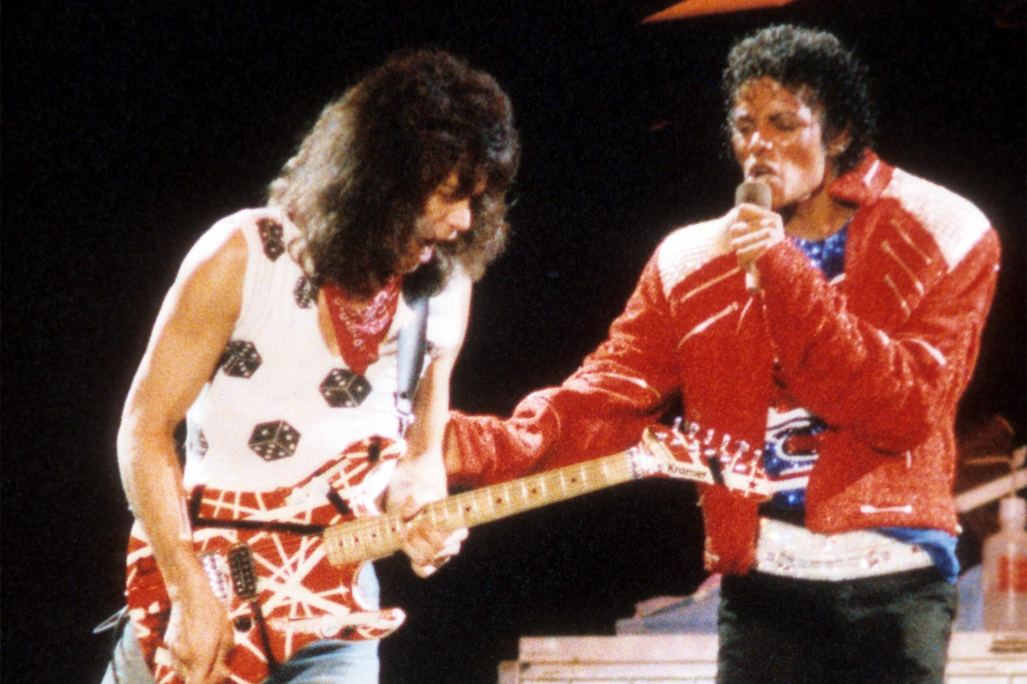 Eddie Van Halen, Michael Jackson