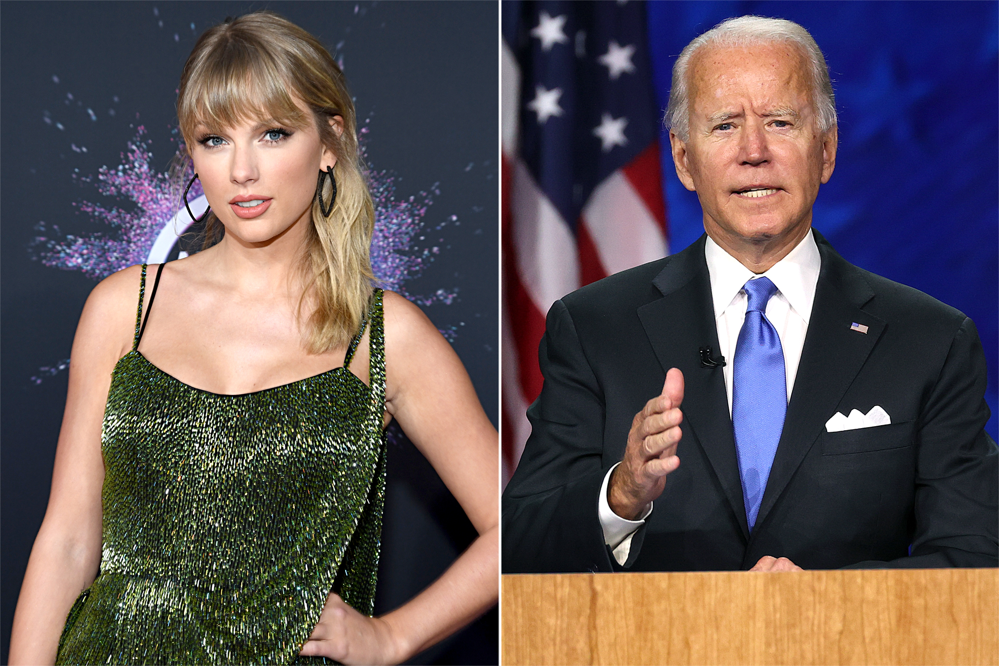 Taylor Swift, Joe Biden