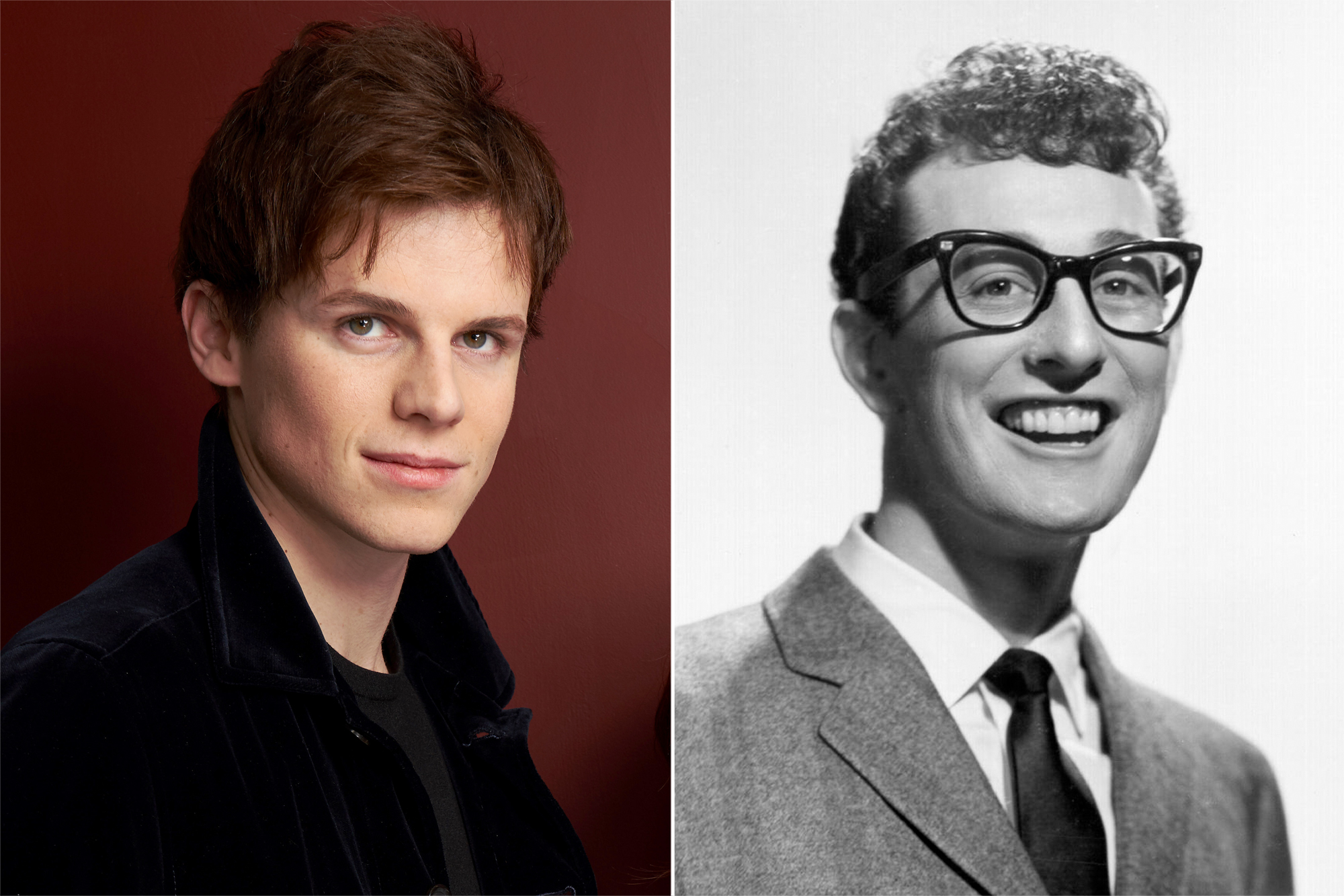 Ruairi O'Connor and Buddy Holly