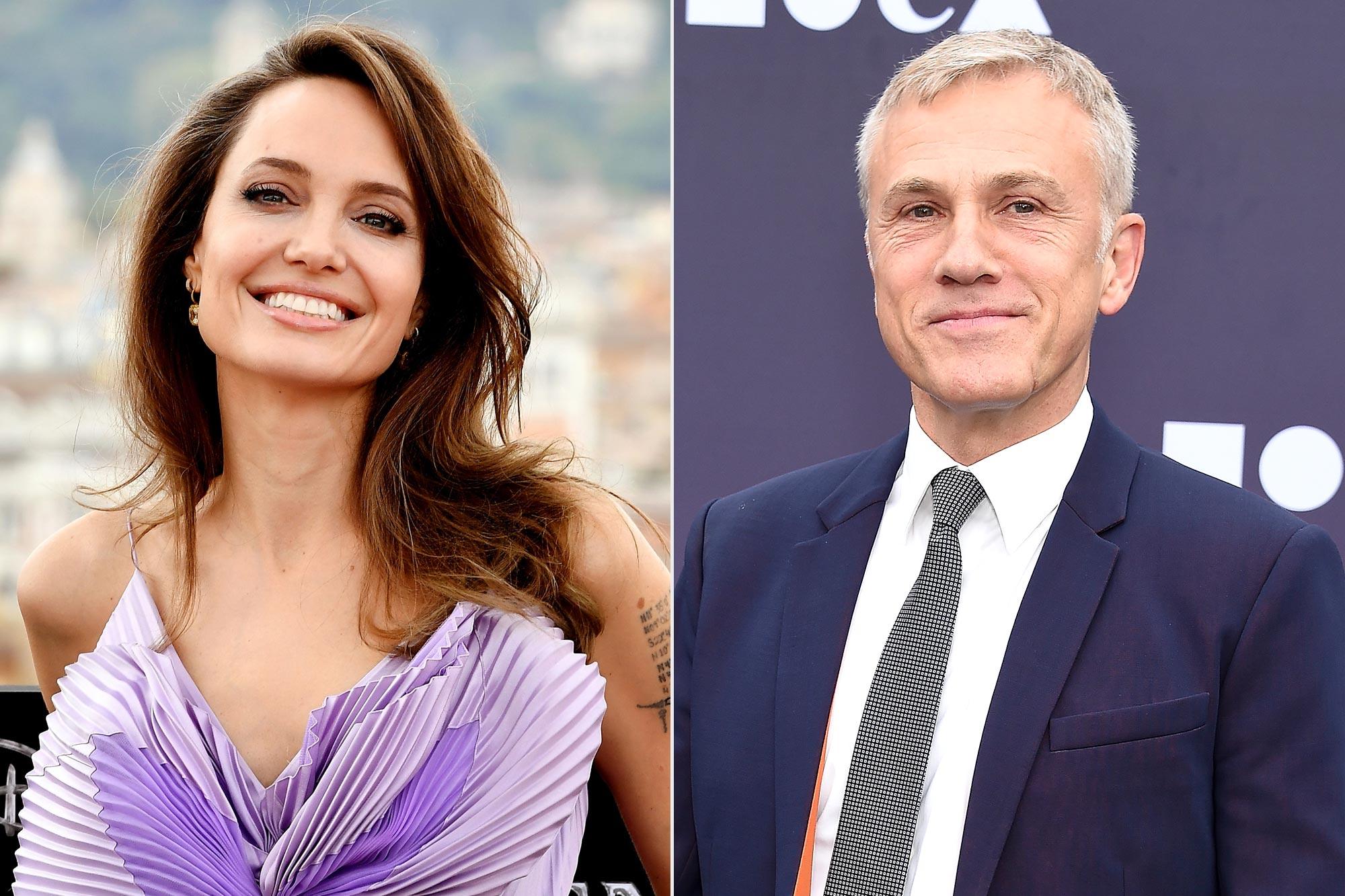 Angelina Jolie; Christoph Waltz