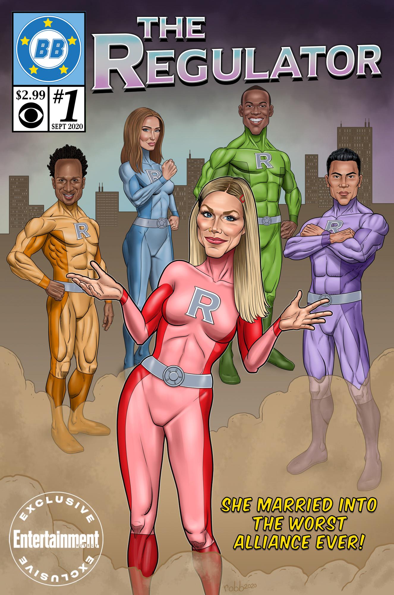 Big Brother: All-Stars Comic