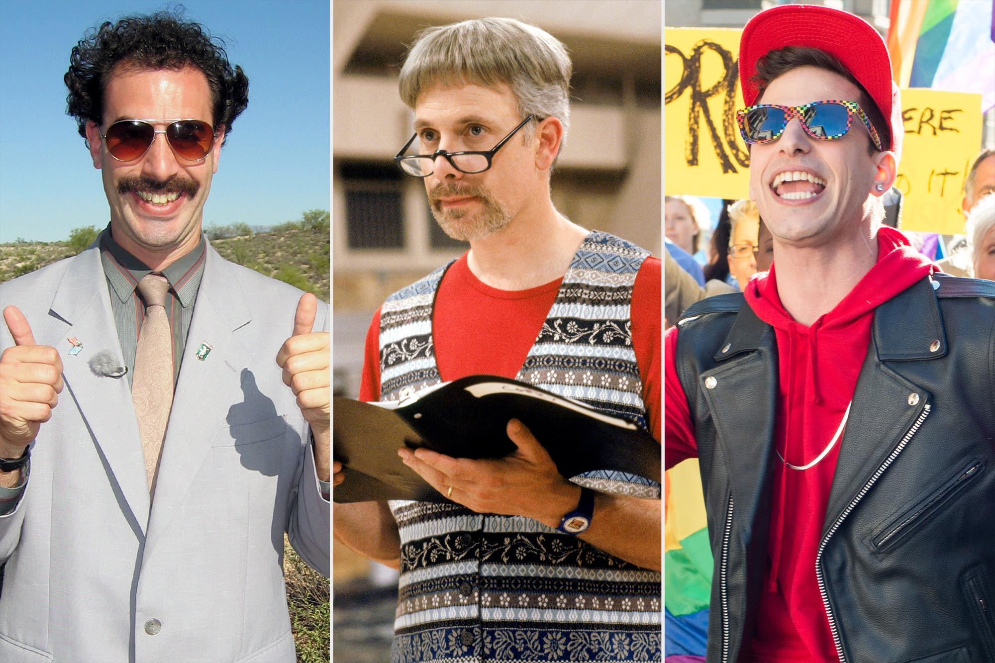 Borat; Waiting for Guffman; Popstar