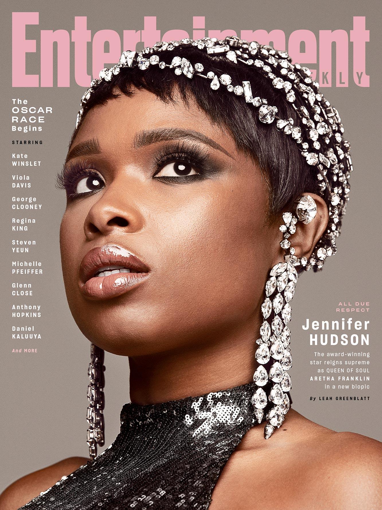 November 2020 EW Cover Jennifer Hudson