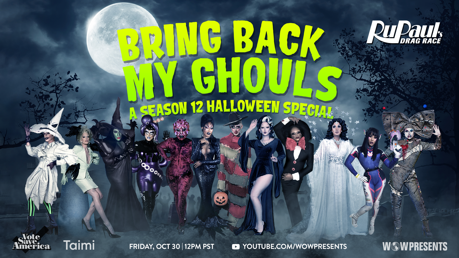 RuPaul's Drag Race Bring Back My Ghouls