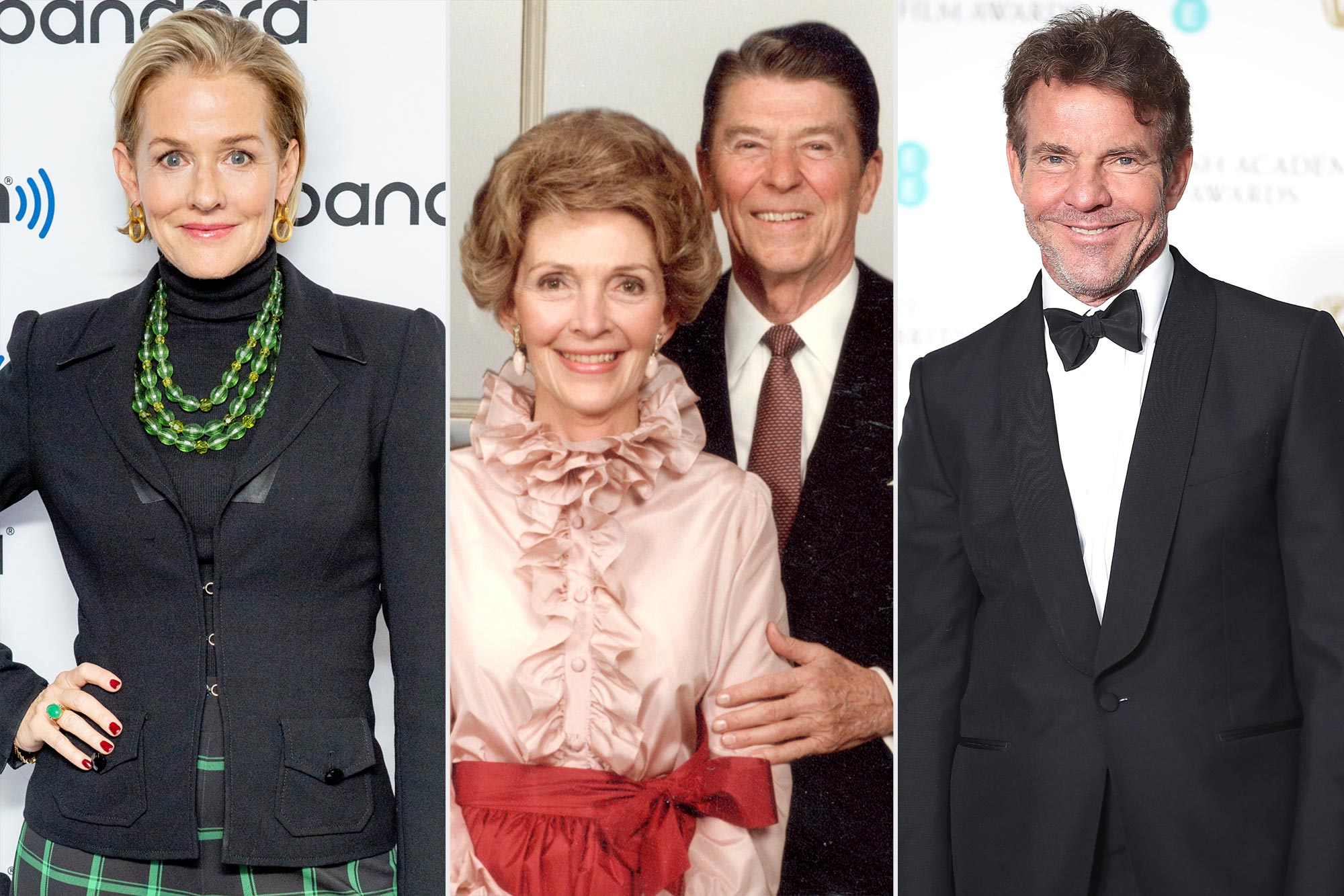Penelope Ann Miller; Nancy and Ronald Reagan; Dennis Quaid