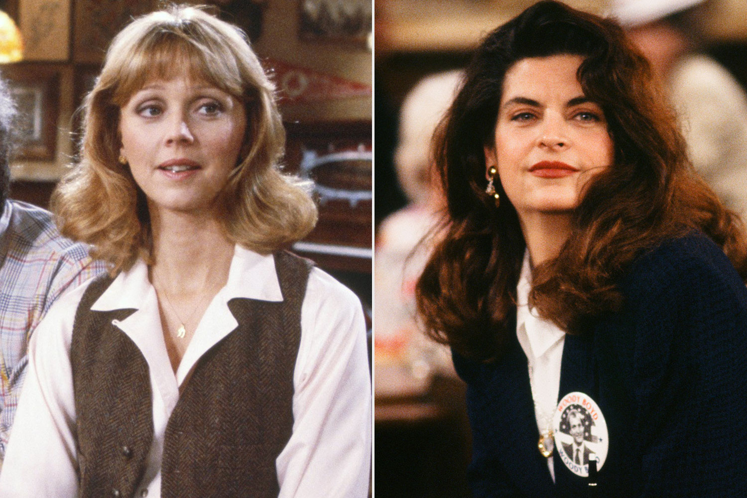 Shelley Long, Kirstie Alley