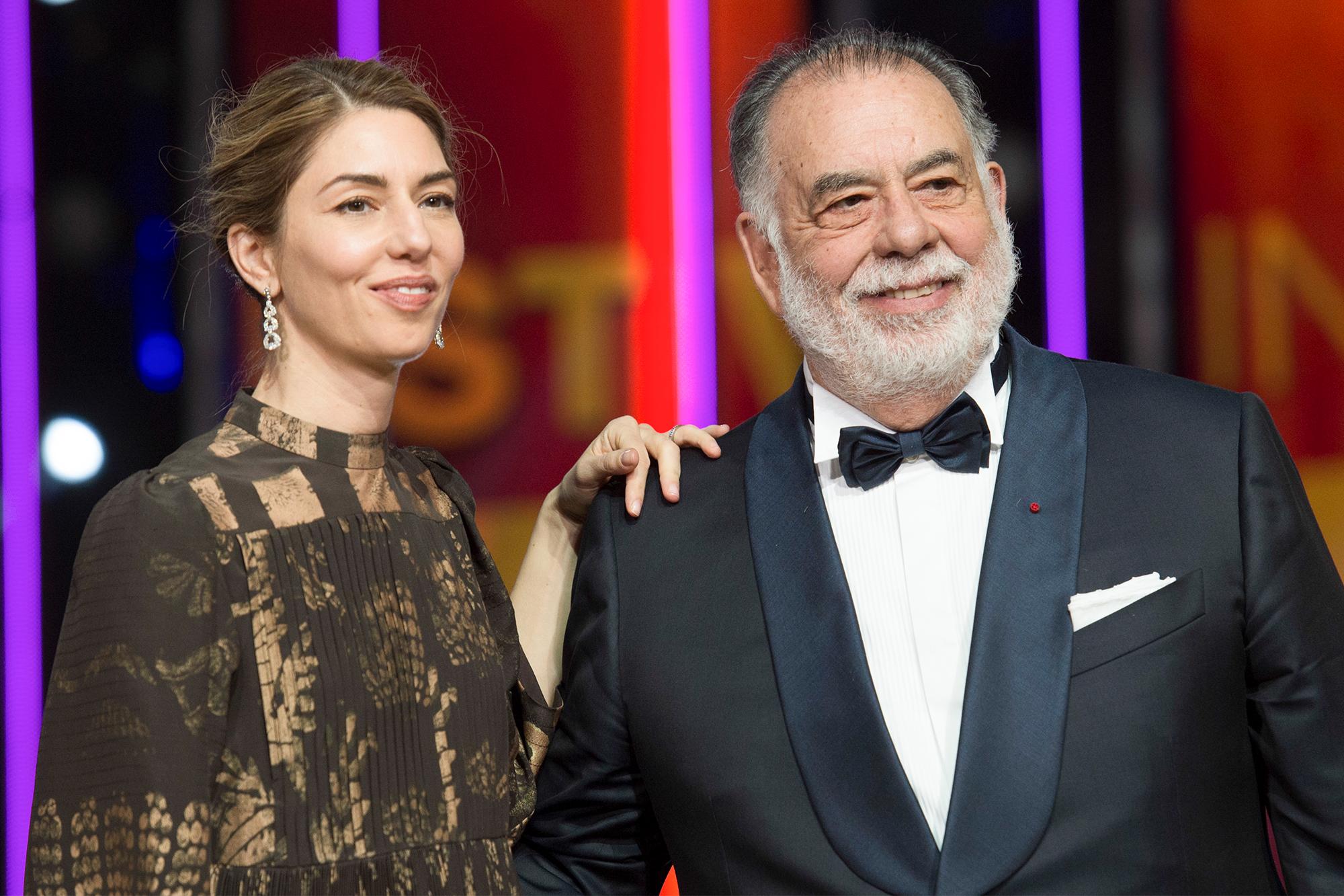 Sofia Coppola and Francis Ford Coppola