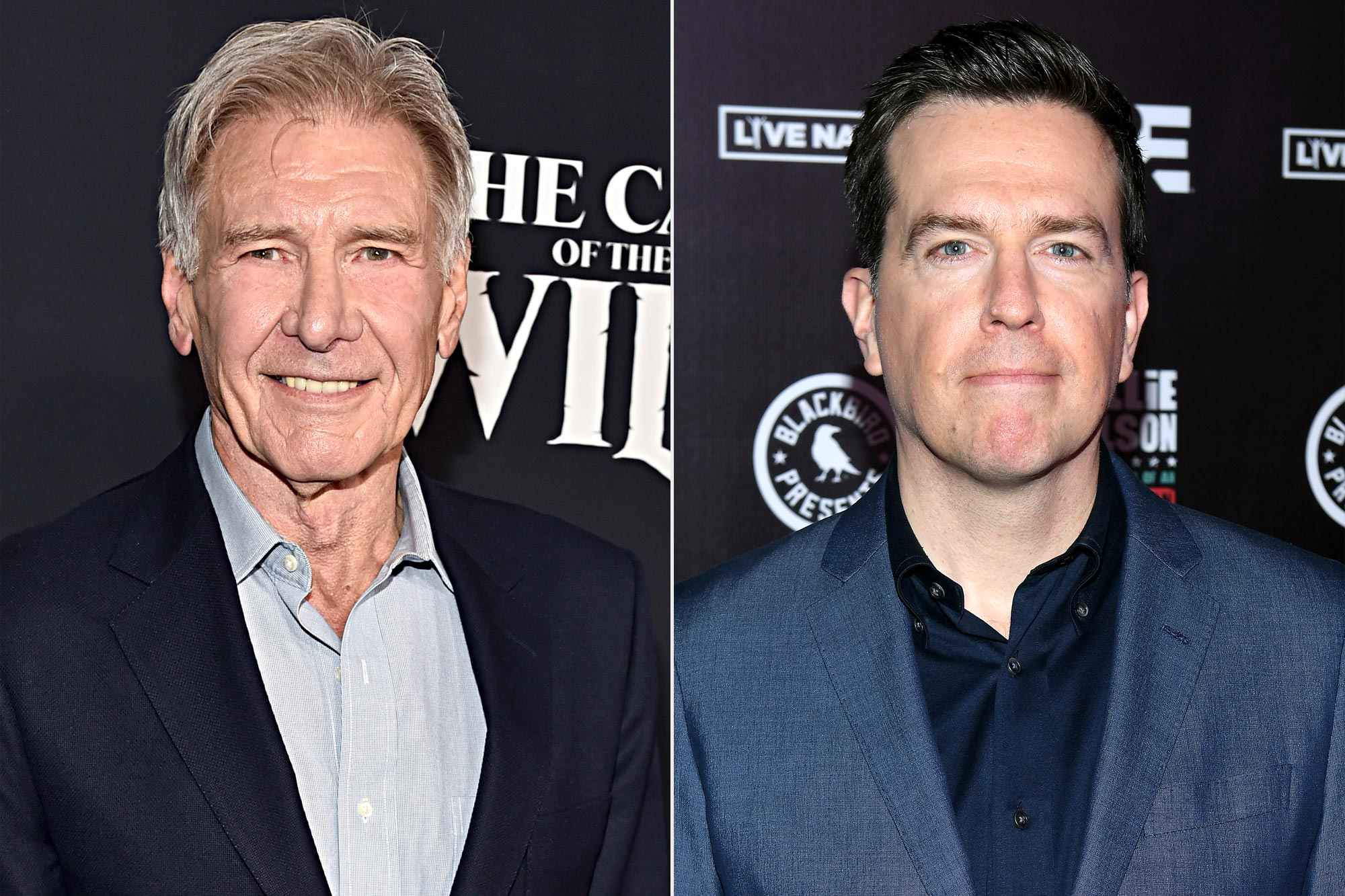 Harrison Ford; Ed Helms