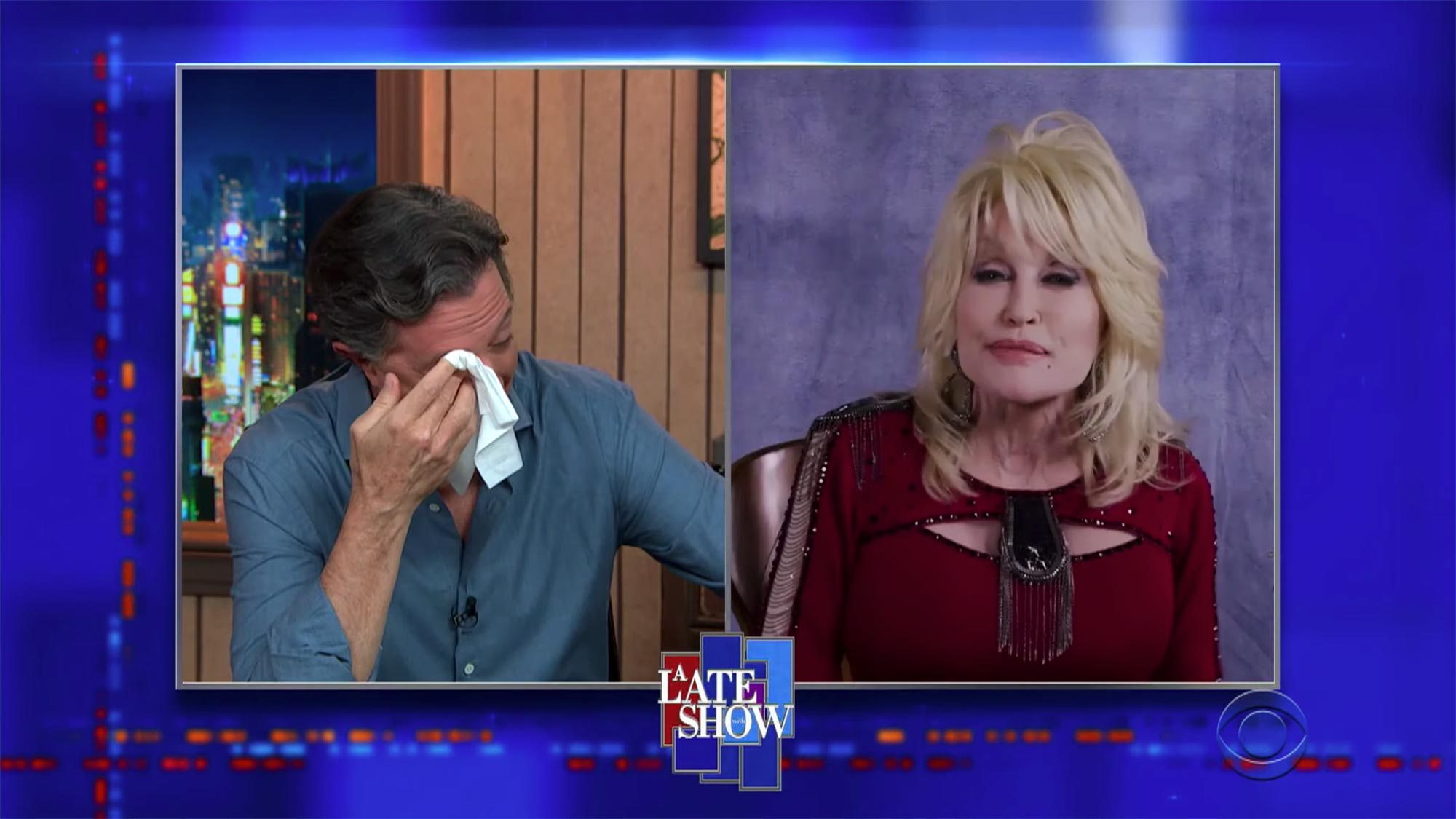 Dolly Parton's Mom Used To Sing Songs That Told Great Stories- The Late Show with Stephen Colbert