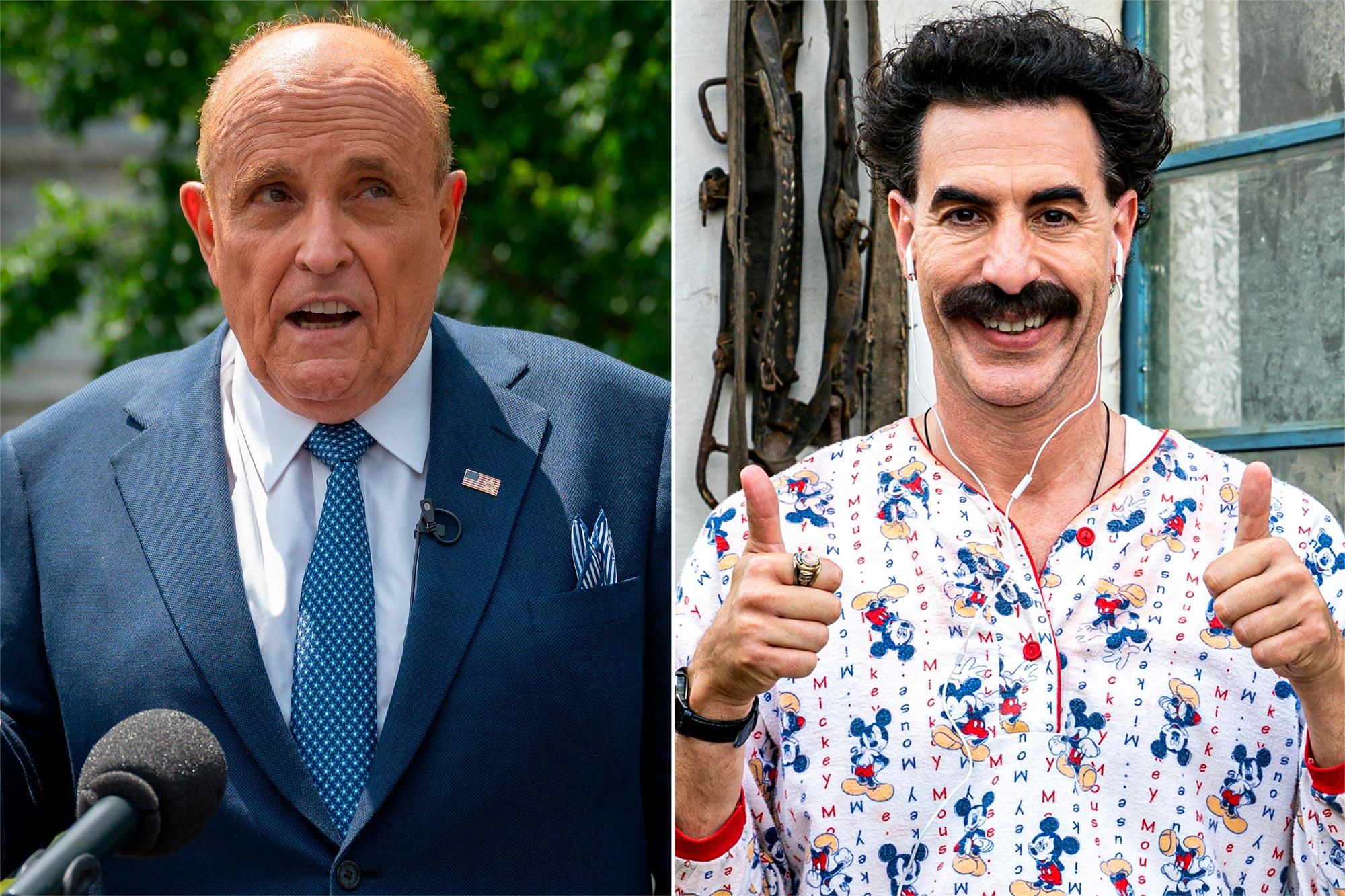 Rudy Giuliani, Borat